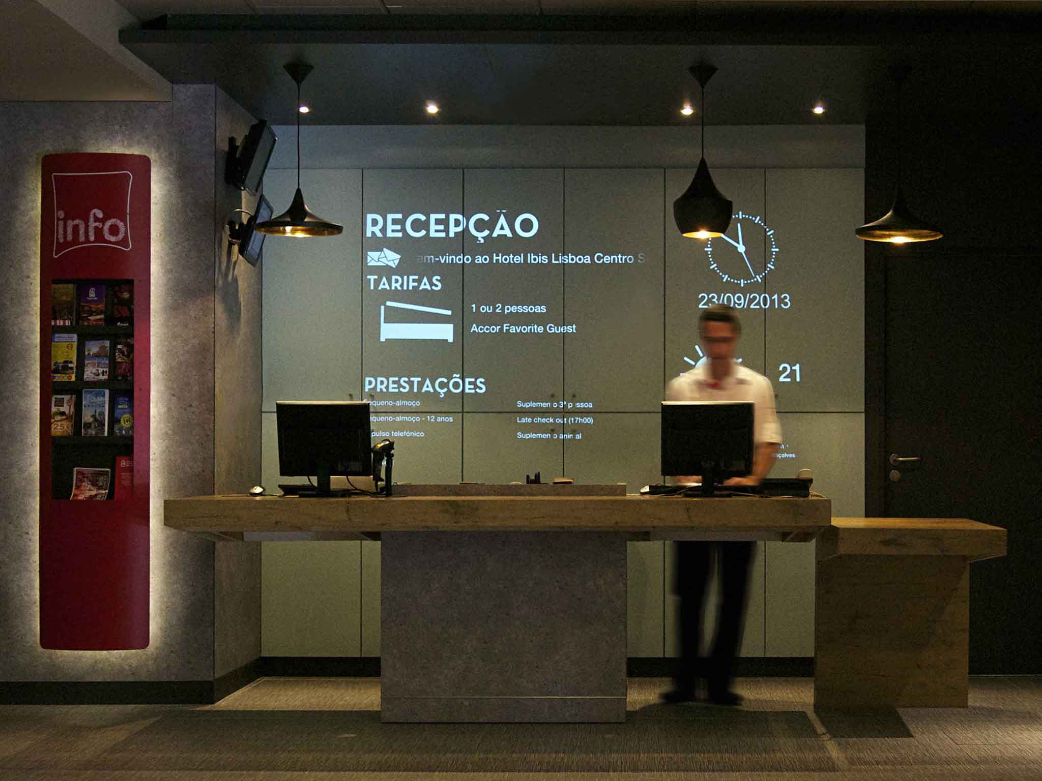 โรงแรม – ibis Lisboa Centro Saldanha