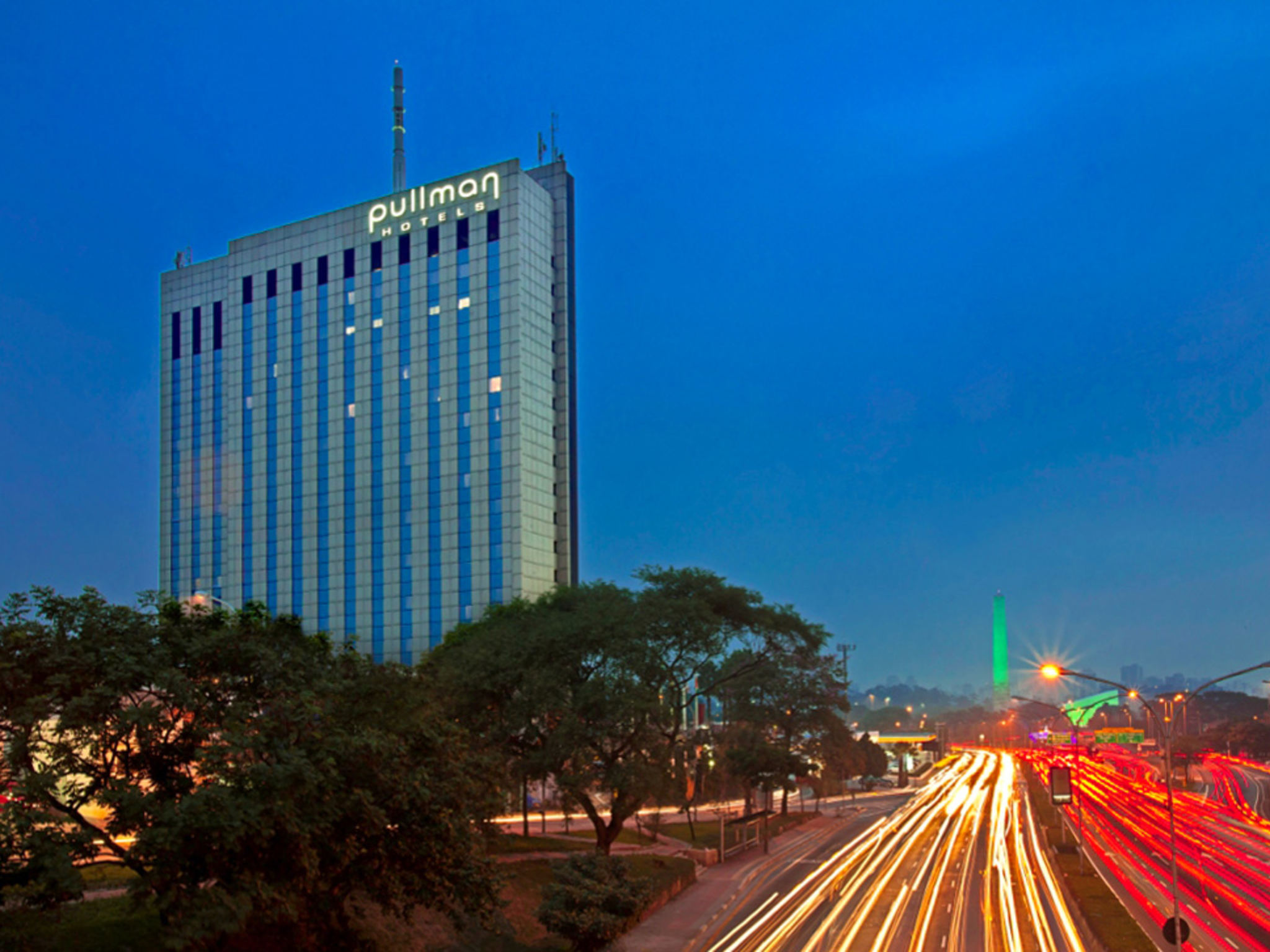 Отель — Pullman Сан-Паулу Ибирапуэра