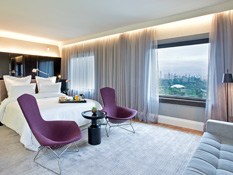Stylishly designed rooms,breathtaking park views
