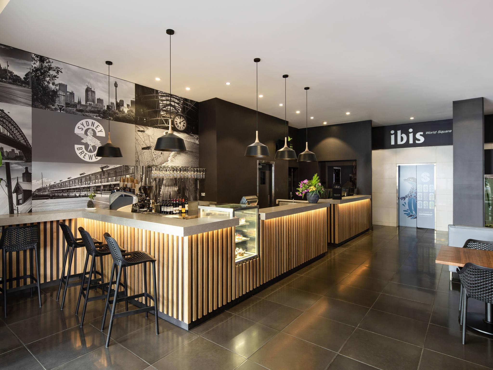 โรงแรม – ไอบิส ซิดนีย์ เวิลด์ สแควร์