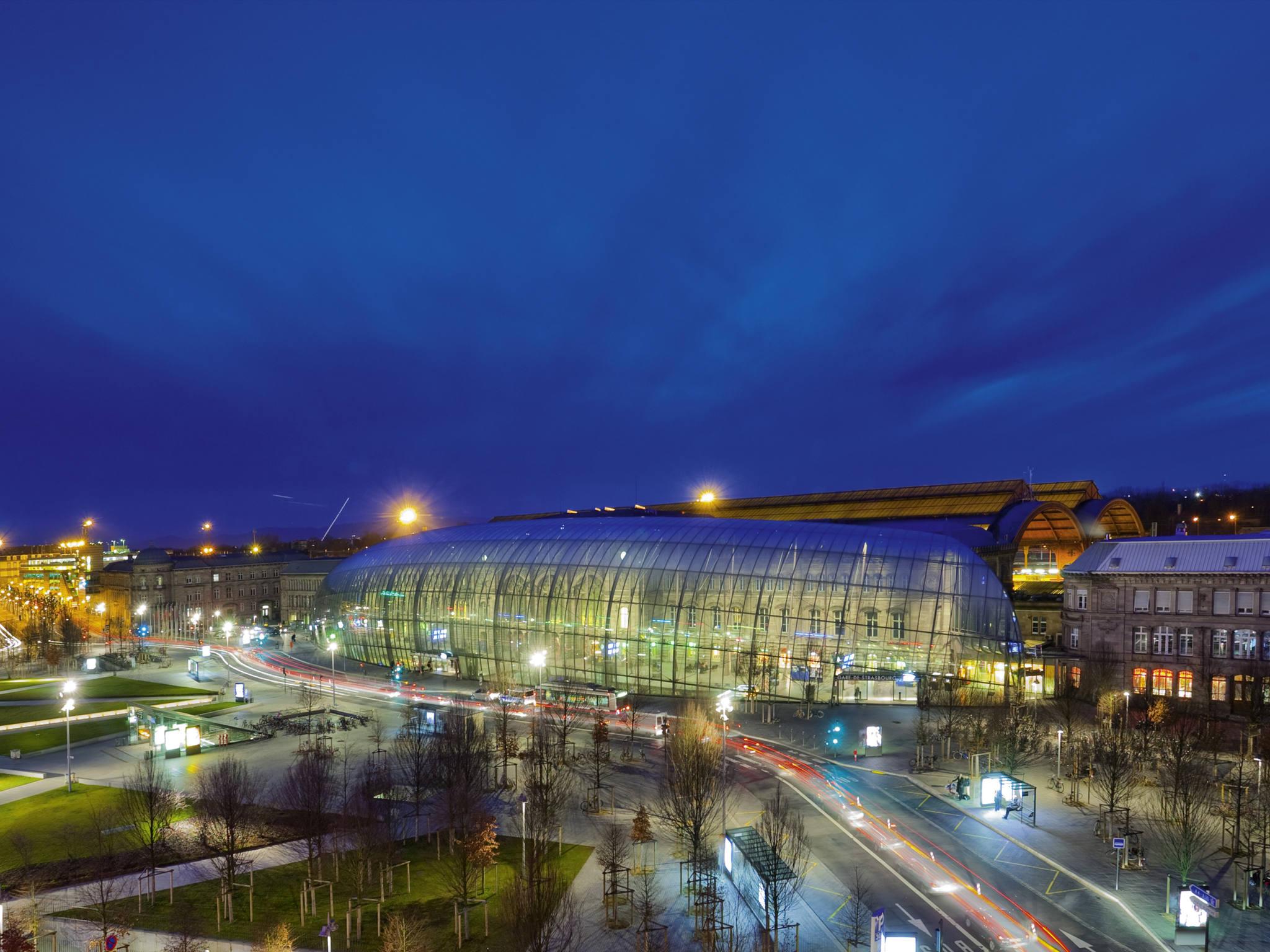 Отель — Mercure Страсбург Центральный Вокзал