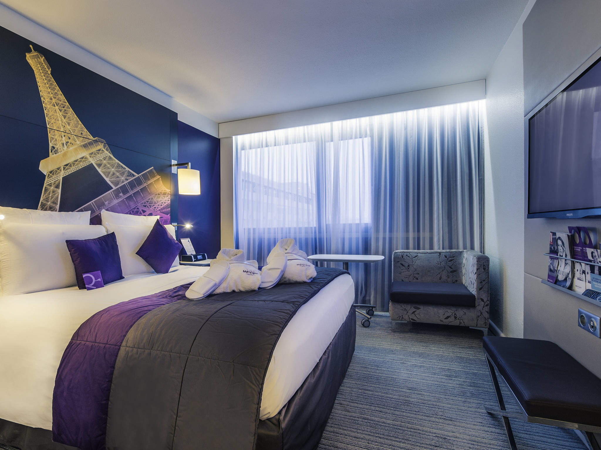 โรงแรม – โรงแรมเมอร์เคียว ปารีส เซ็นเตอร์ ตูร์ ไอเฟล