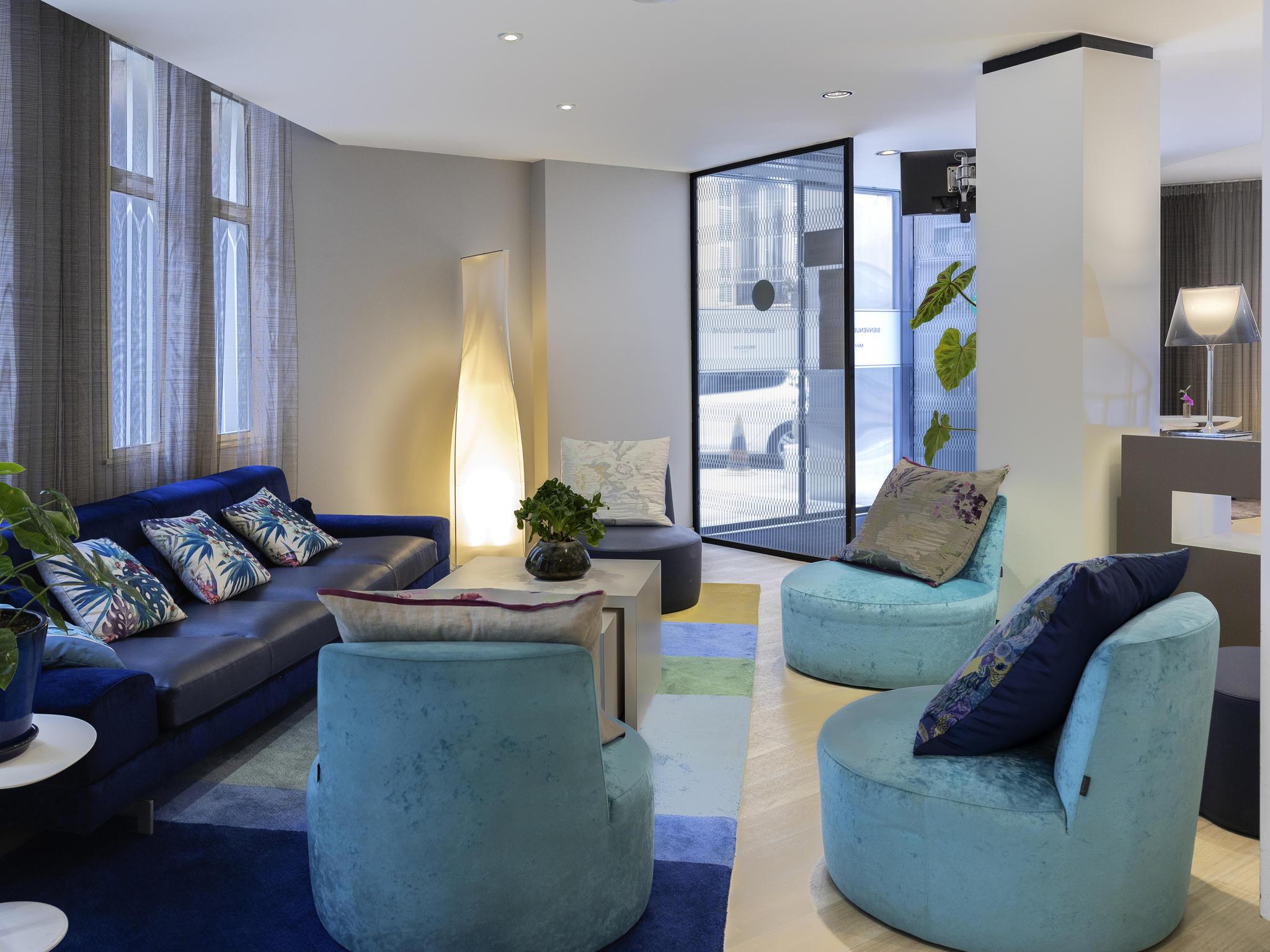 โรงแรม – Hôtel Mercure Nice Centre Grimaldi