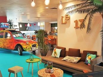 Hotel in clichy ibis paris porte de clichy centre - Theatre berthier porte de clichy ...