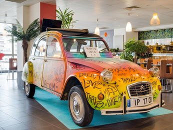 Hotel pas cher paris ibis paris 17 clichy batignolles ex berthier - Porte de clichy restaurant ...