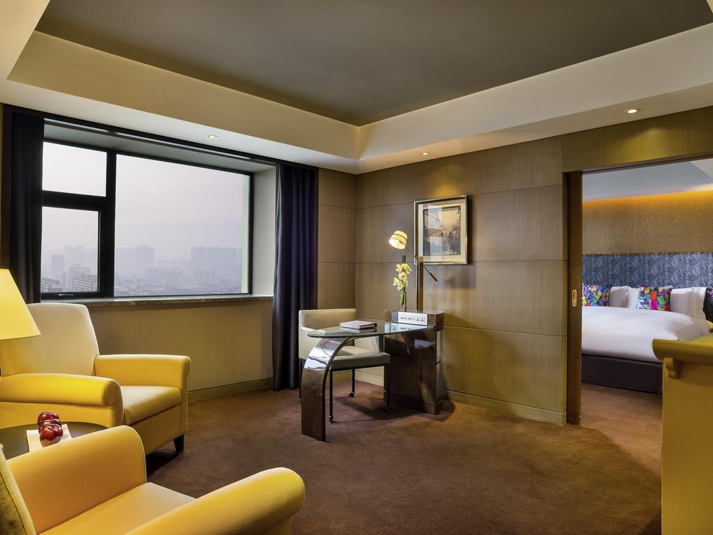 Hotel di Lusso a Zhengzhou – Sofitel Zhengzhou International #AB9620 1024x768 Banheiro Com Banheira E Tv