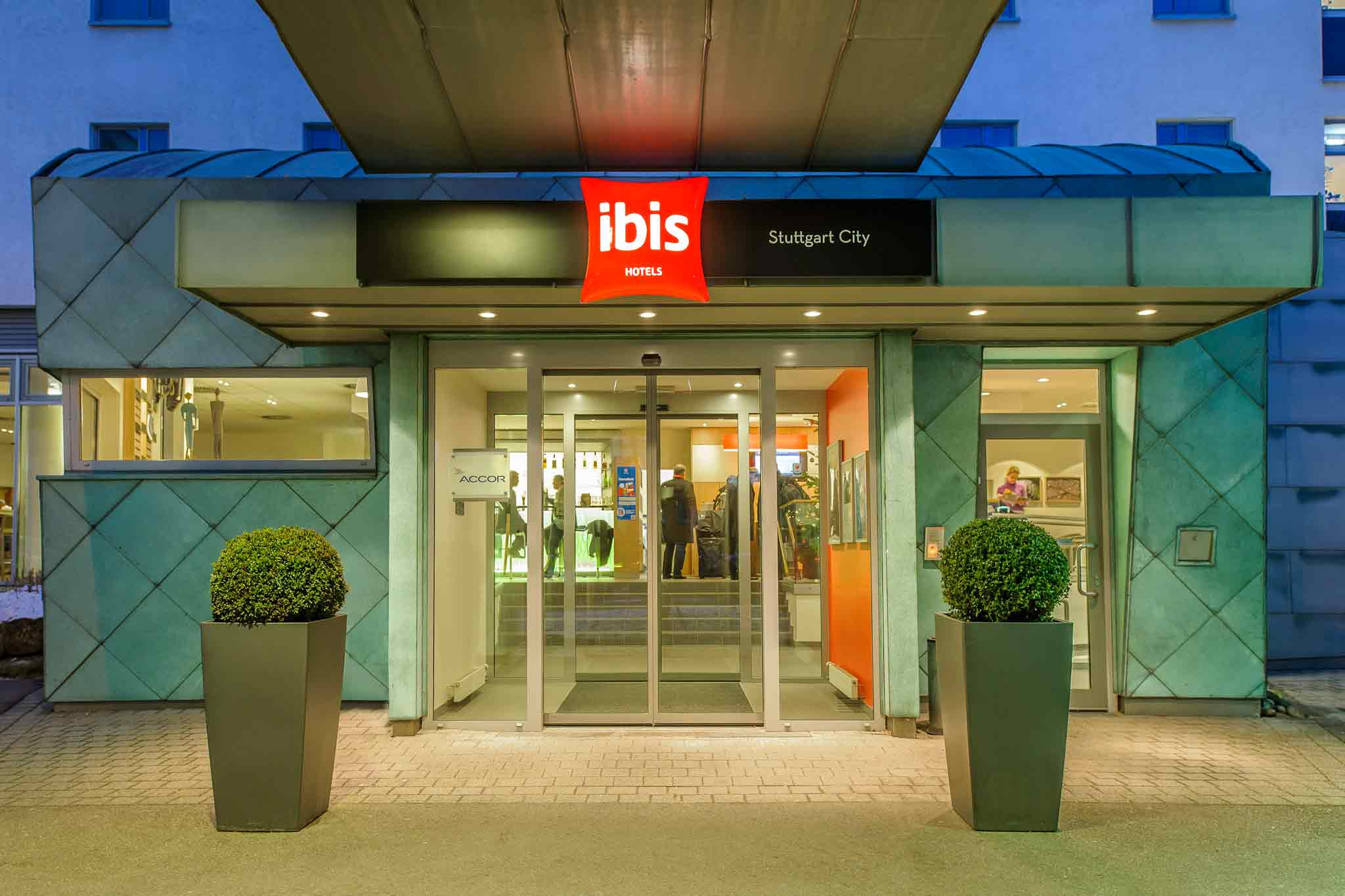 Отель — ibis Штутгарт Сити