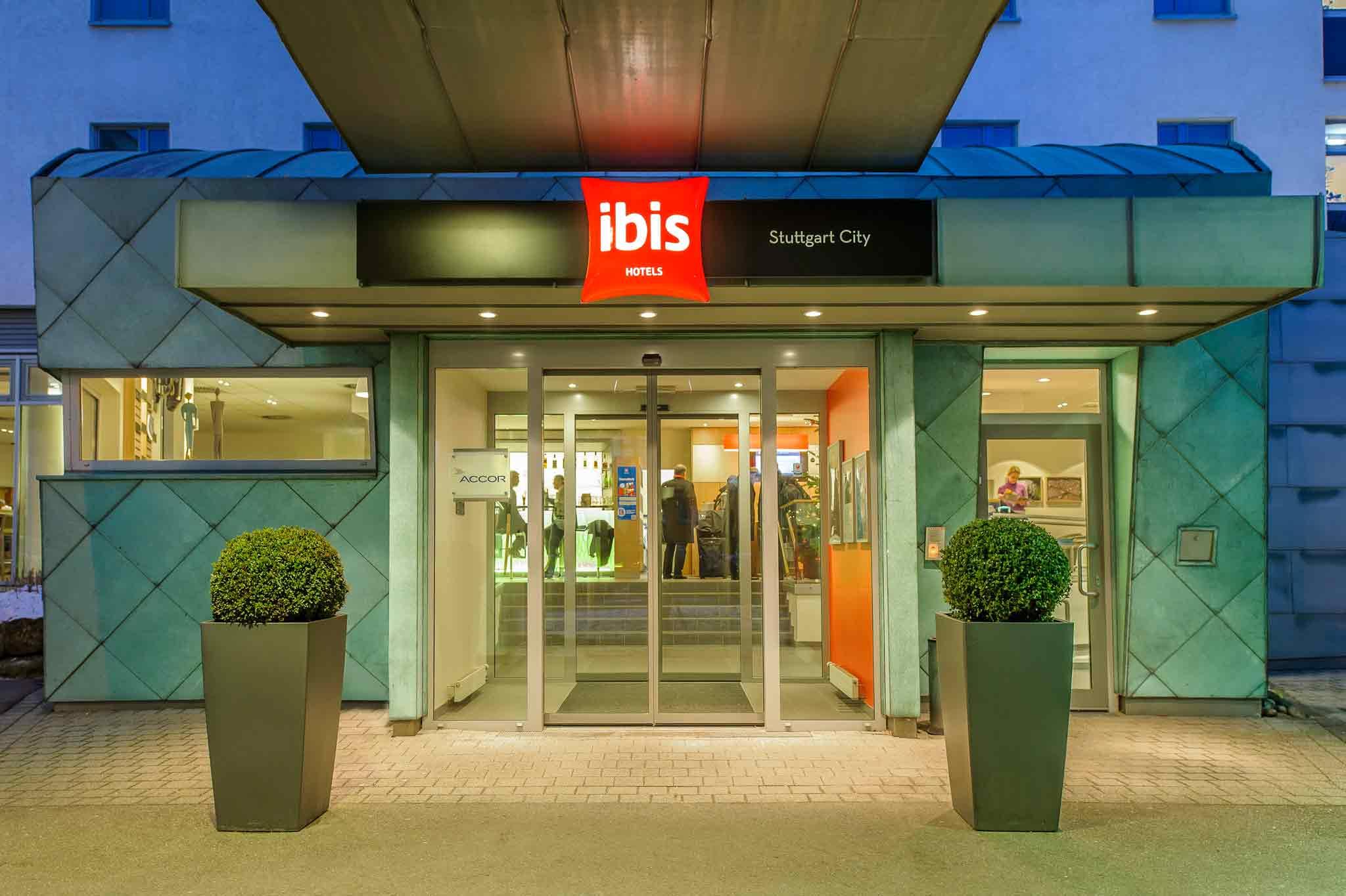 Hotell – ibis Stuttgart City