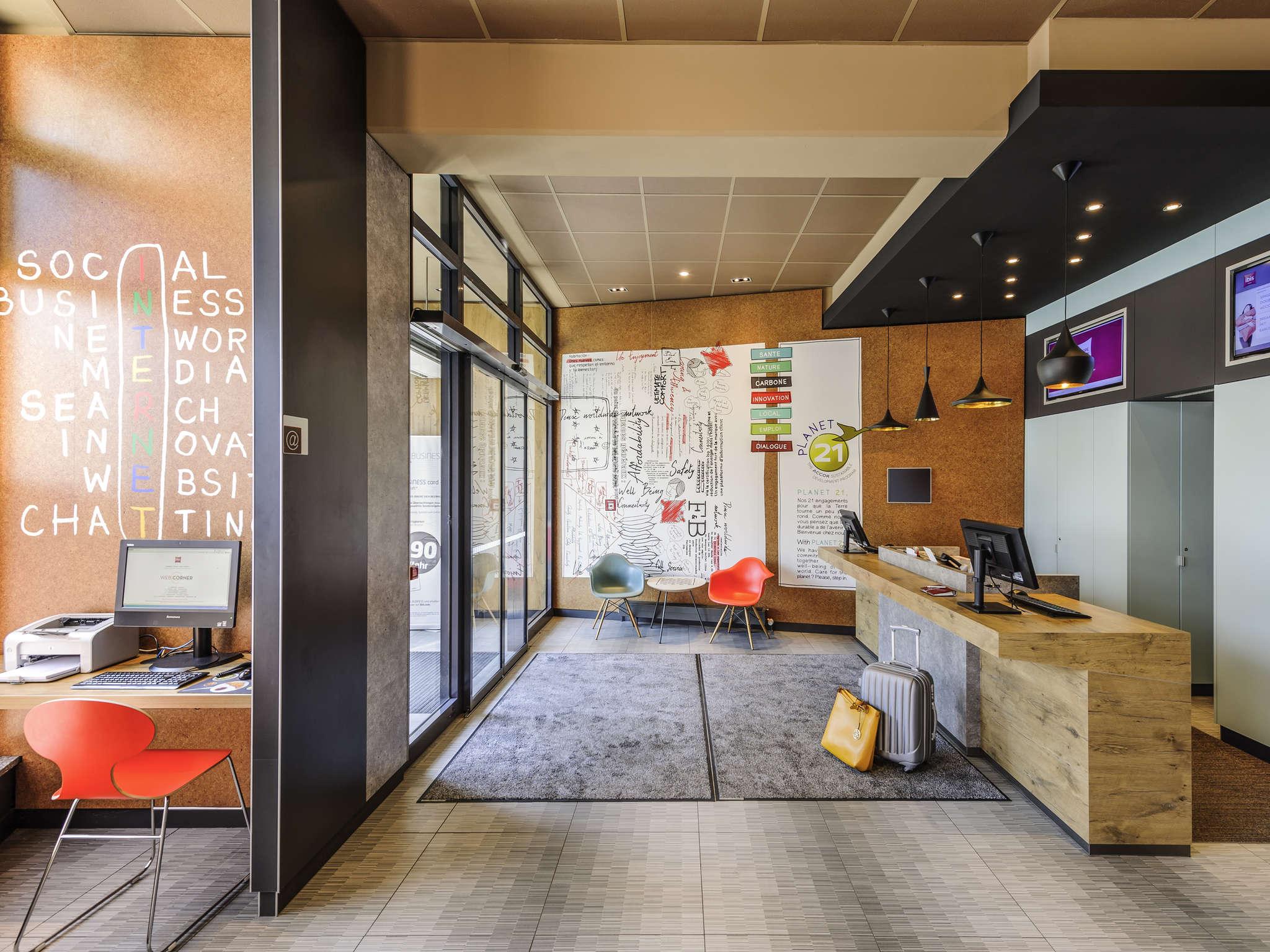 โรงแรม – ibis Jena City