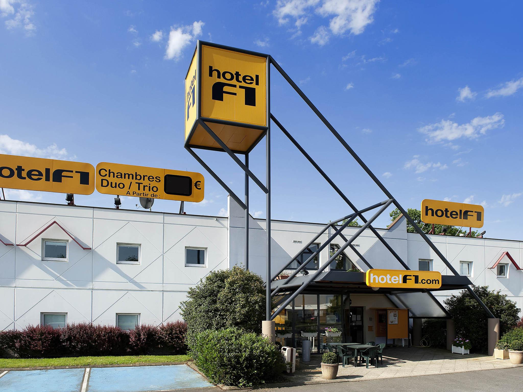 Отель — hotelF1 Périgueux Boulazac
