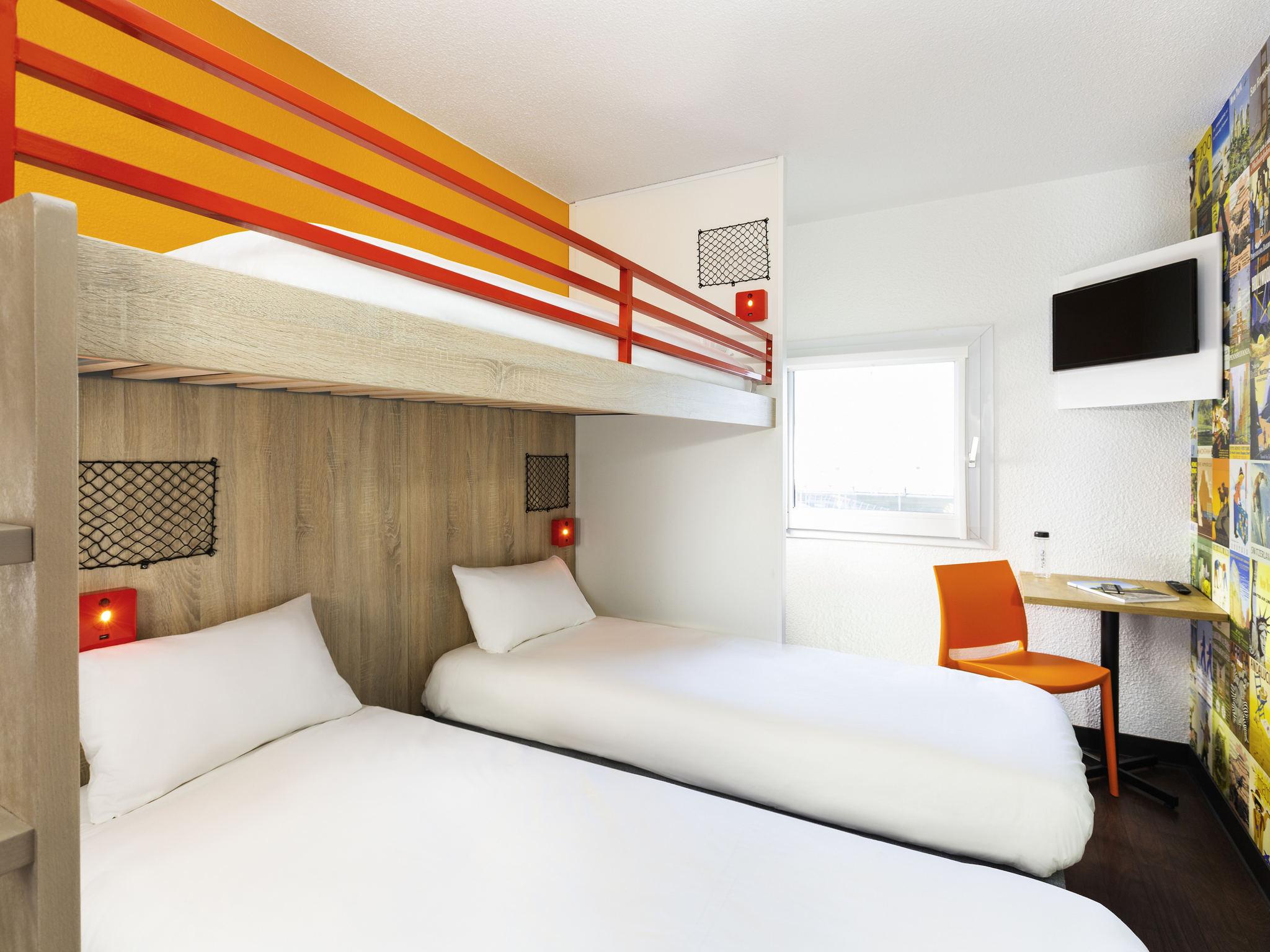 โรงแรม – hotelF1 Nancy Sud
