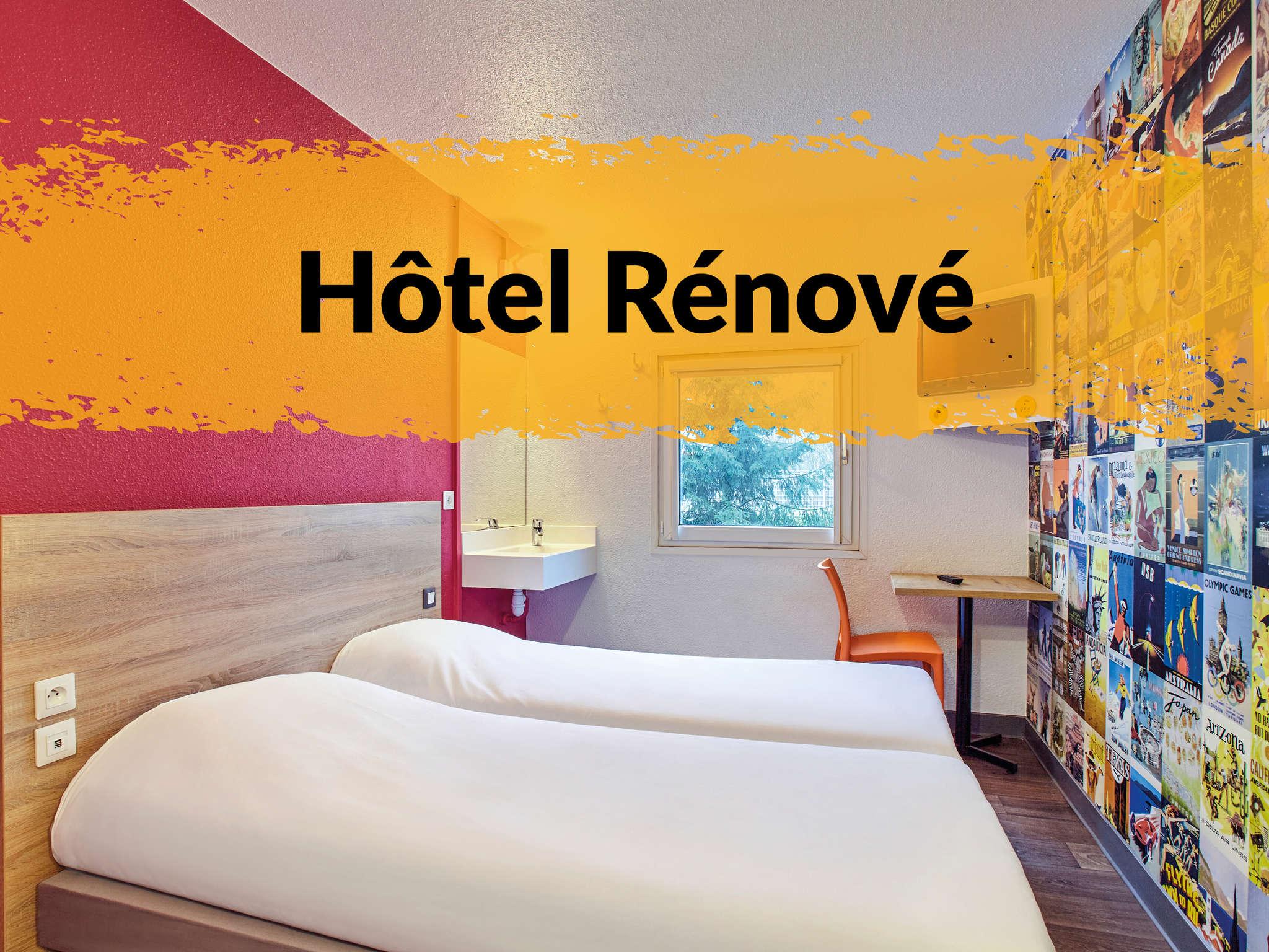 Отель — hotelF1 Nantes Est Porte de Saint-Luce
