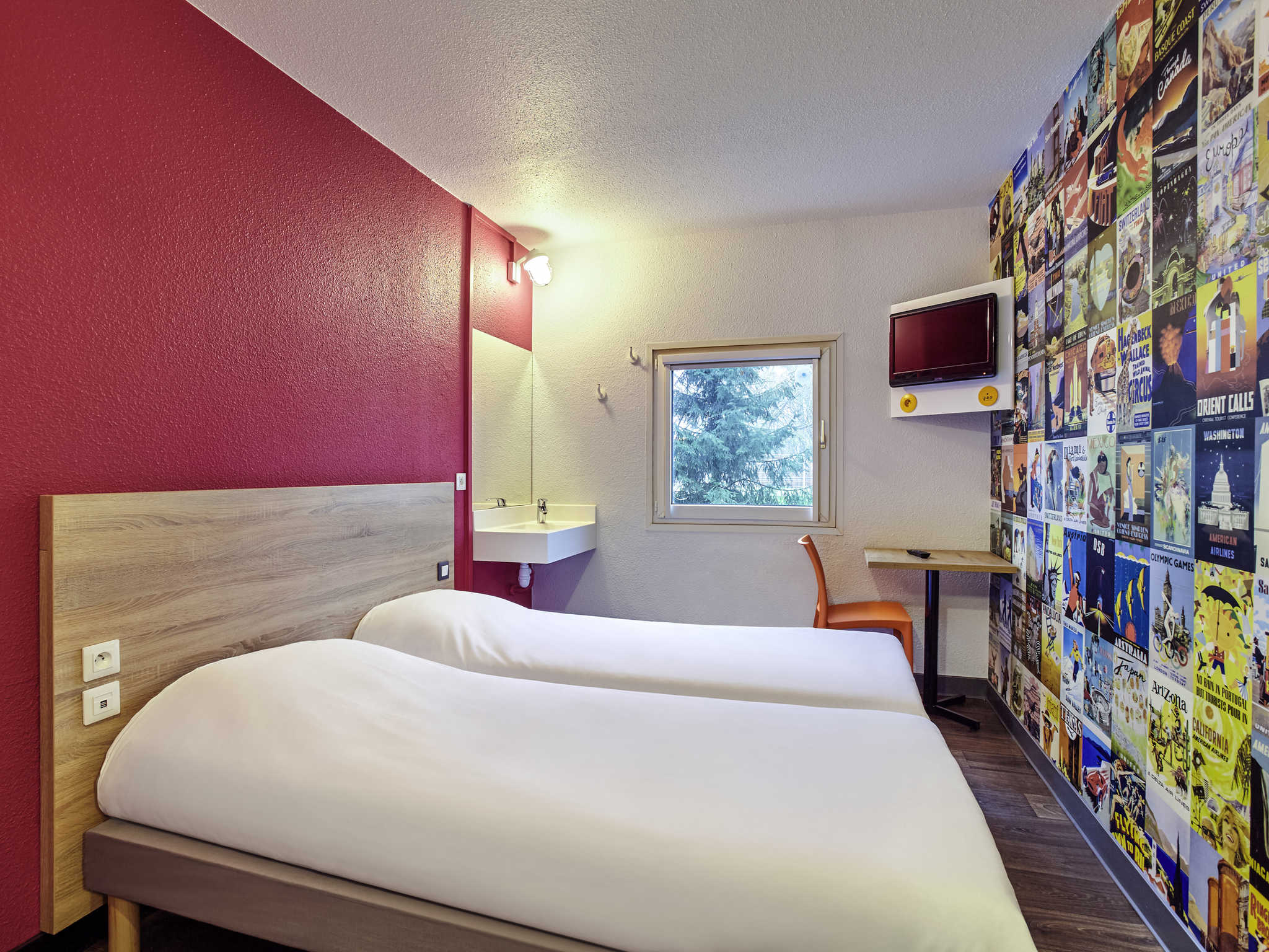 Hotell – hotelF1 Nantes Est Porte de Saint-Luce