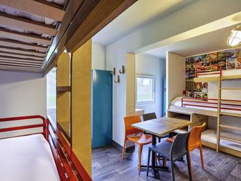hotelF1 Lille Métropole (Métro Mons Sarts) (rénové) à MONS EN BAROEUL