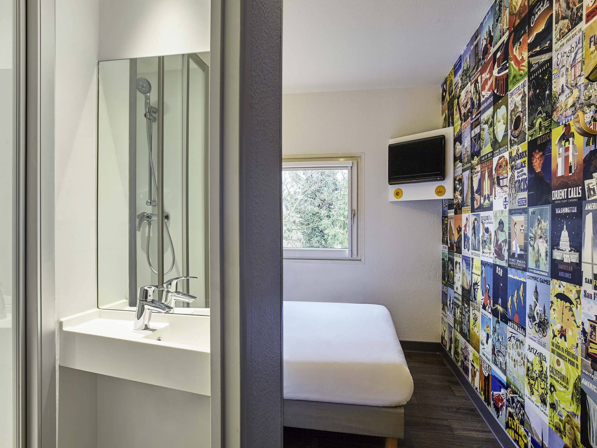 โรงแรม – hotelF1 Marseille Plan de Campagne N°1 (rénové)