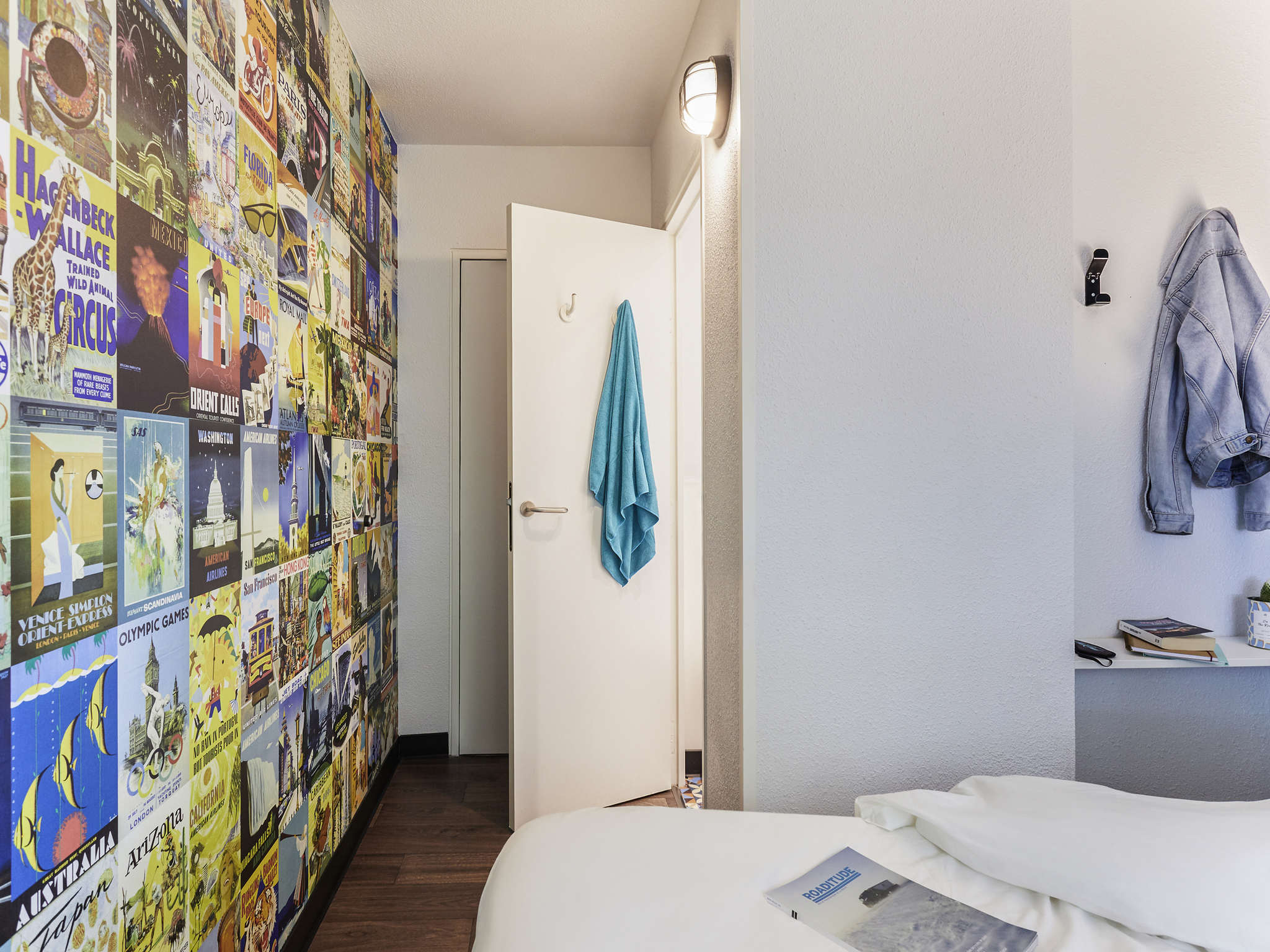 Отель — hotelF1 Clermont-Ferrand Est