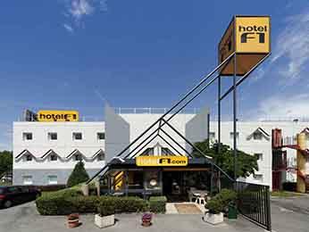 HotelF1 strasbourg sud illkirch in Geispolsheim
