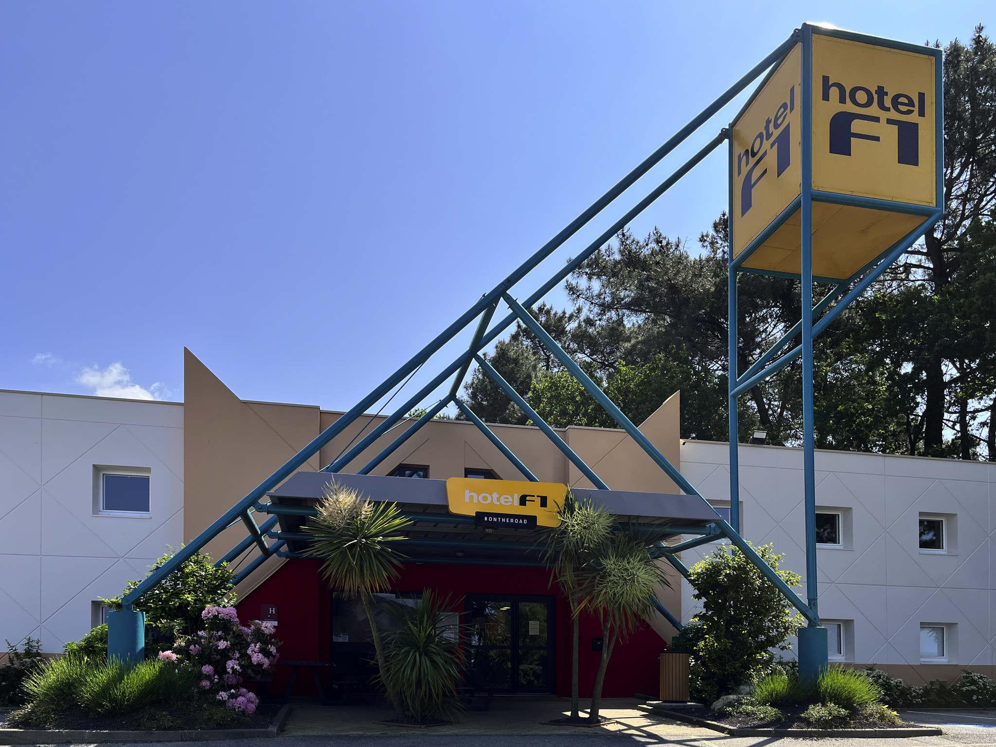 Hotel In CAUDAN HotelF Lorient - Lit formule 1 pas cher