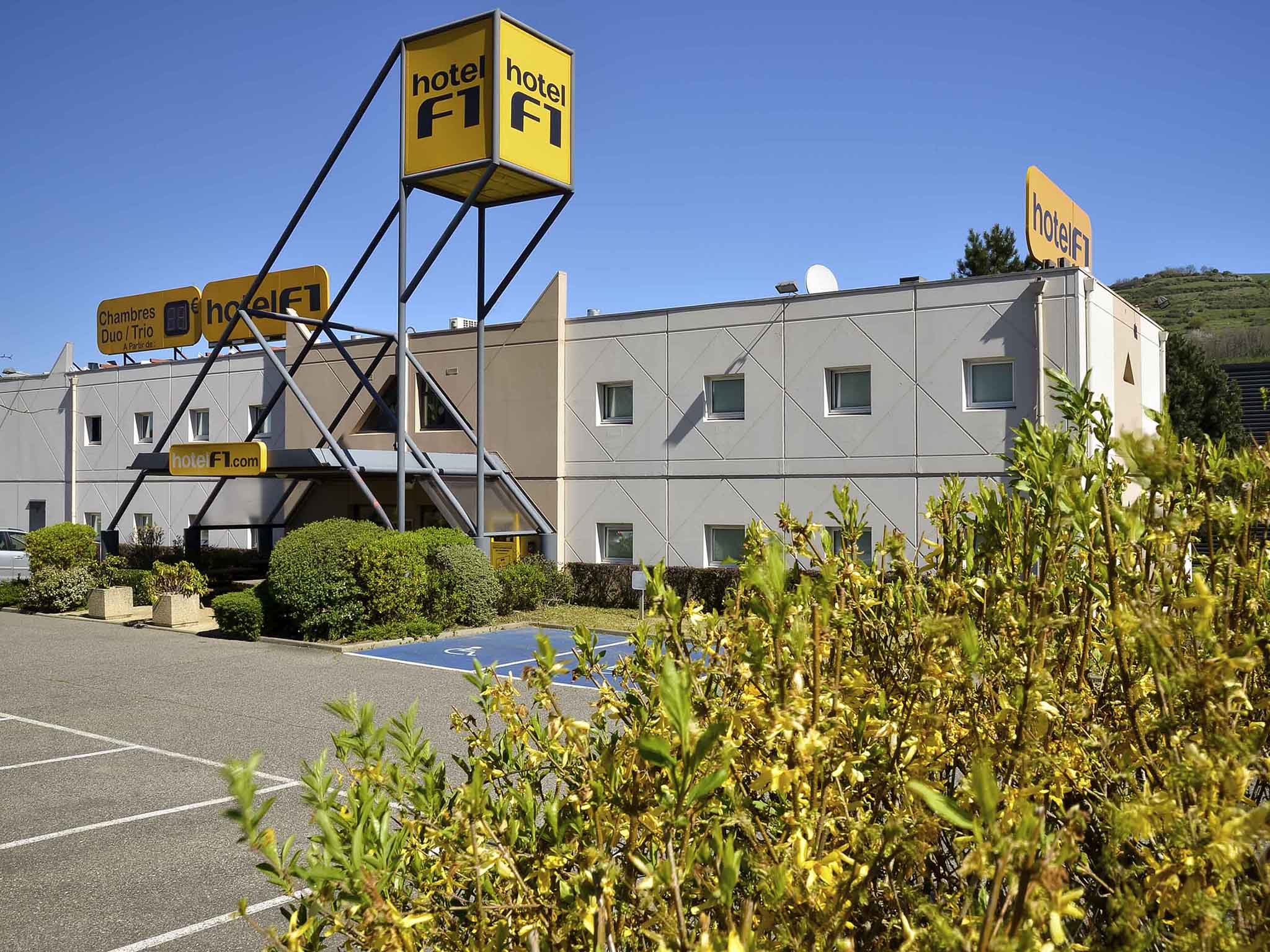 Hotel - hotelF1 Clermont Ferrand Issoire Coudes