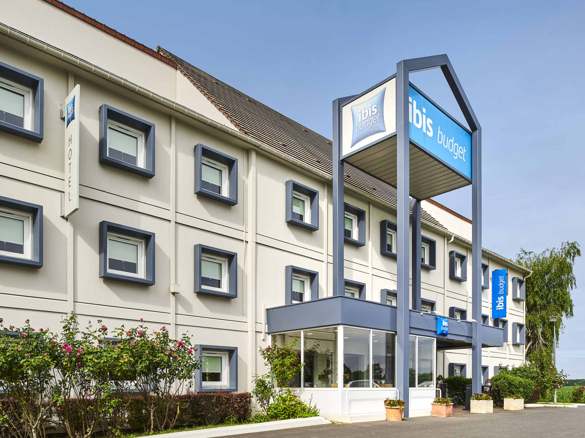 Отель — ibis budget Santeny