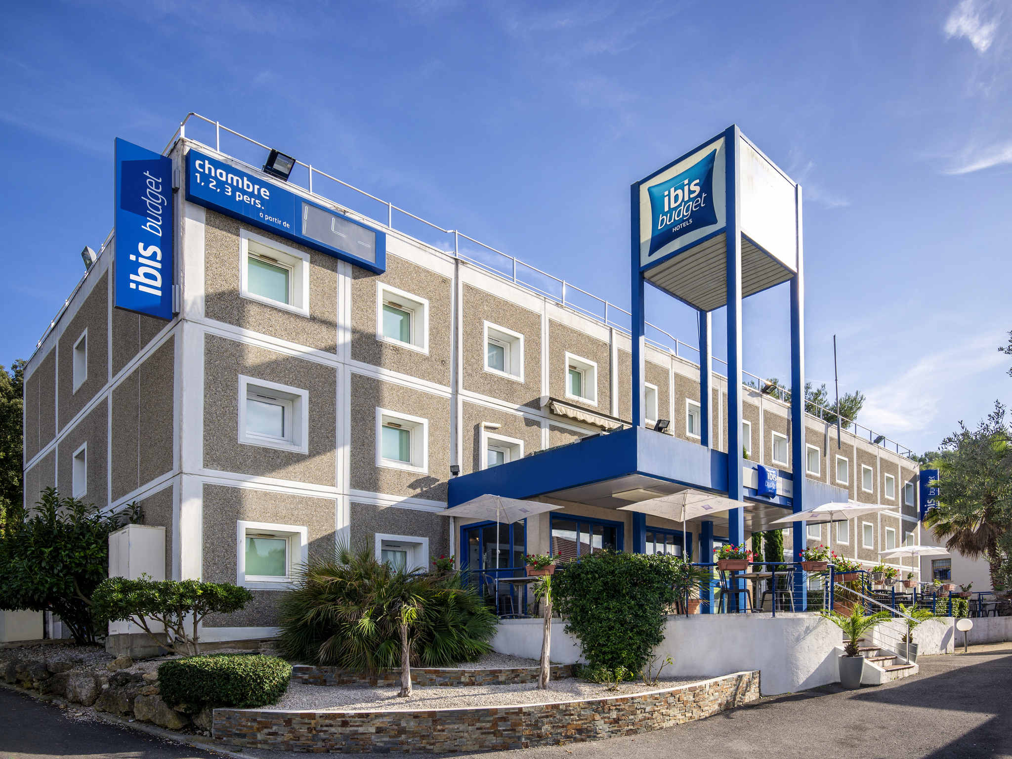Hotel – ibis budget Antibes Sophia Antipolis