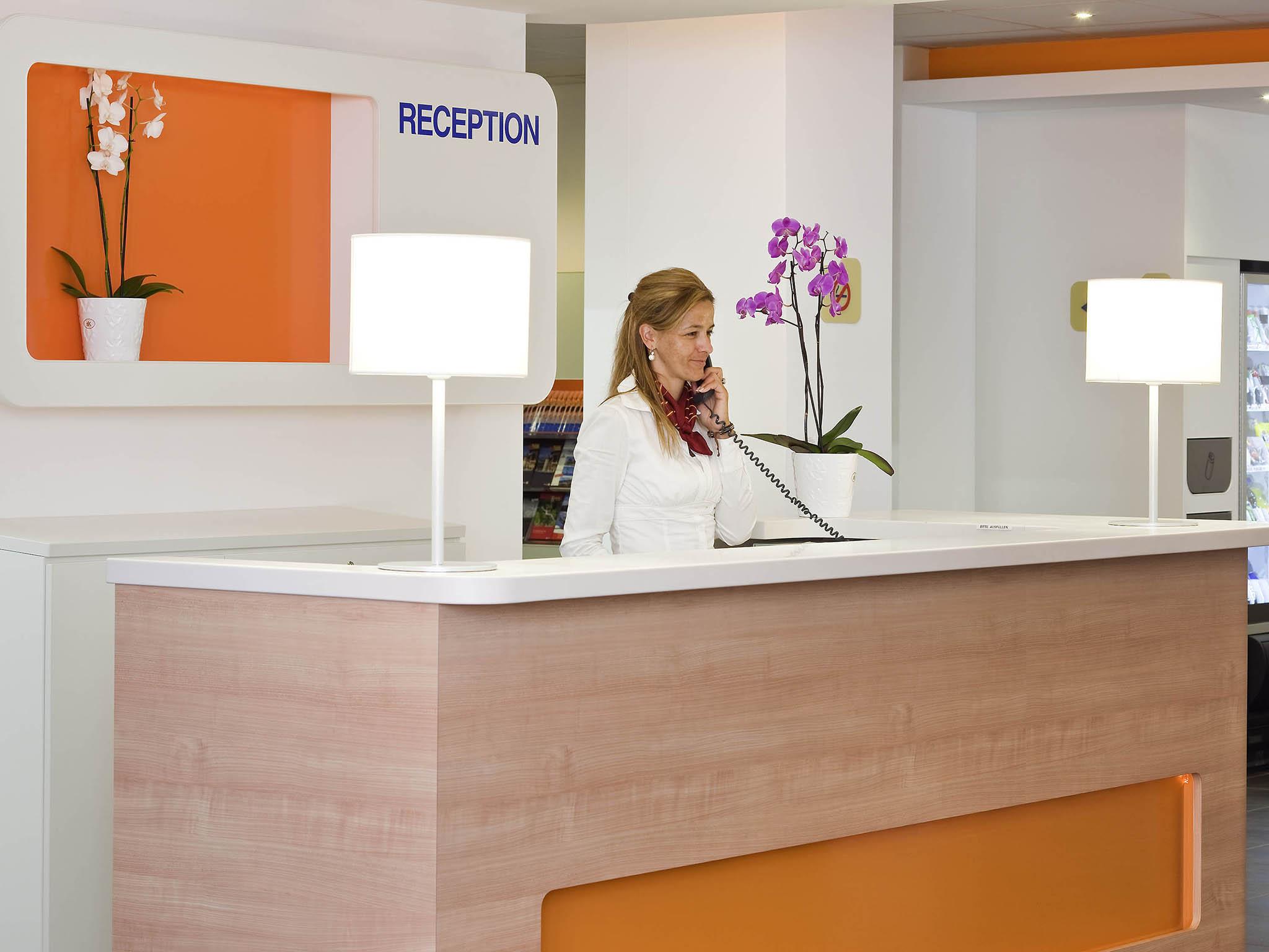 Отель — ibis budget Belfort Gare Bavilliers
