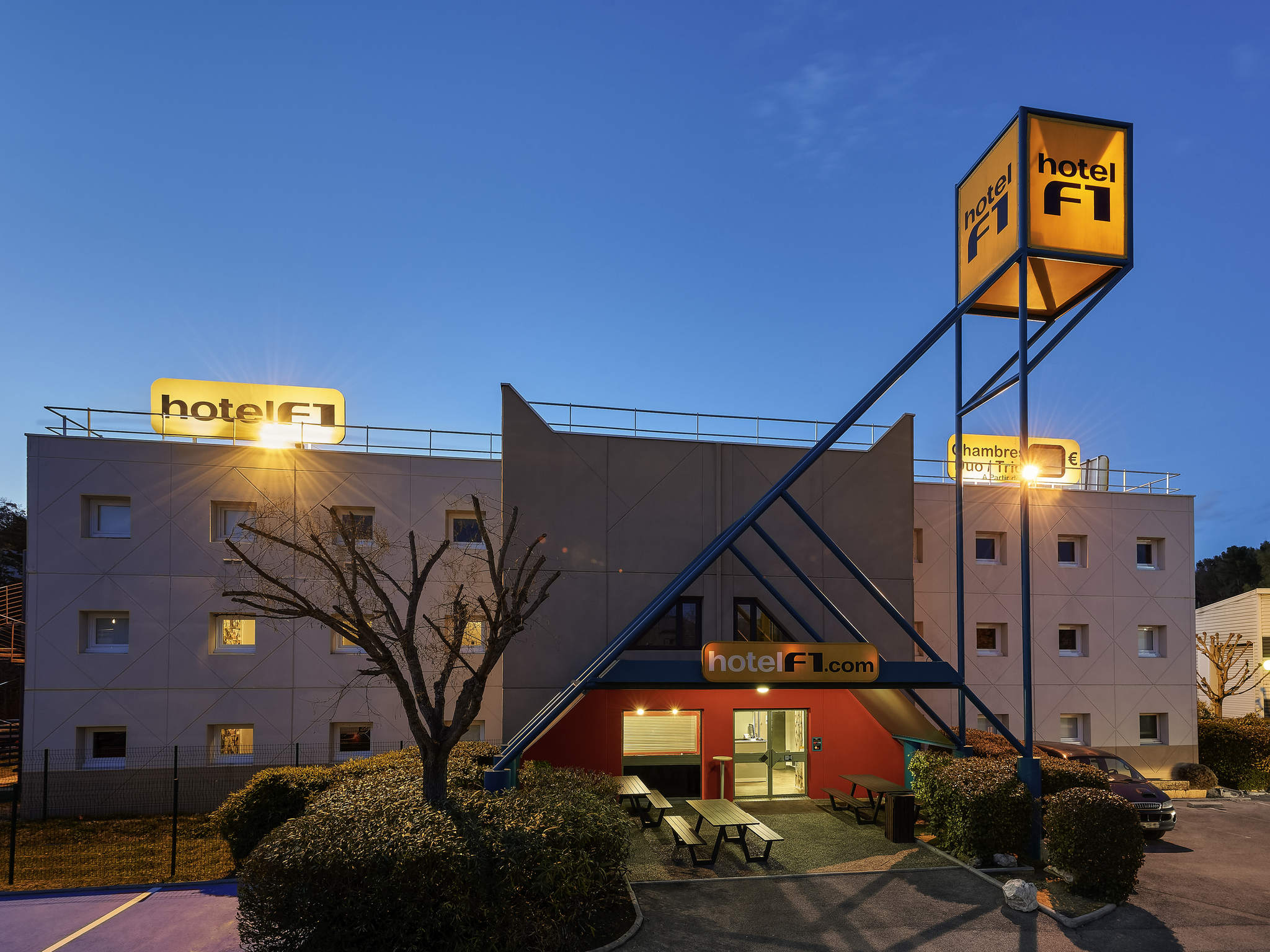호텔 – hotelF1 Marseille La Valentine (rénové)