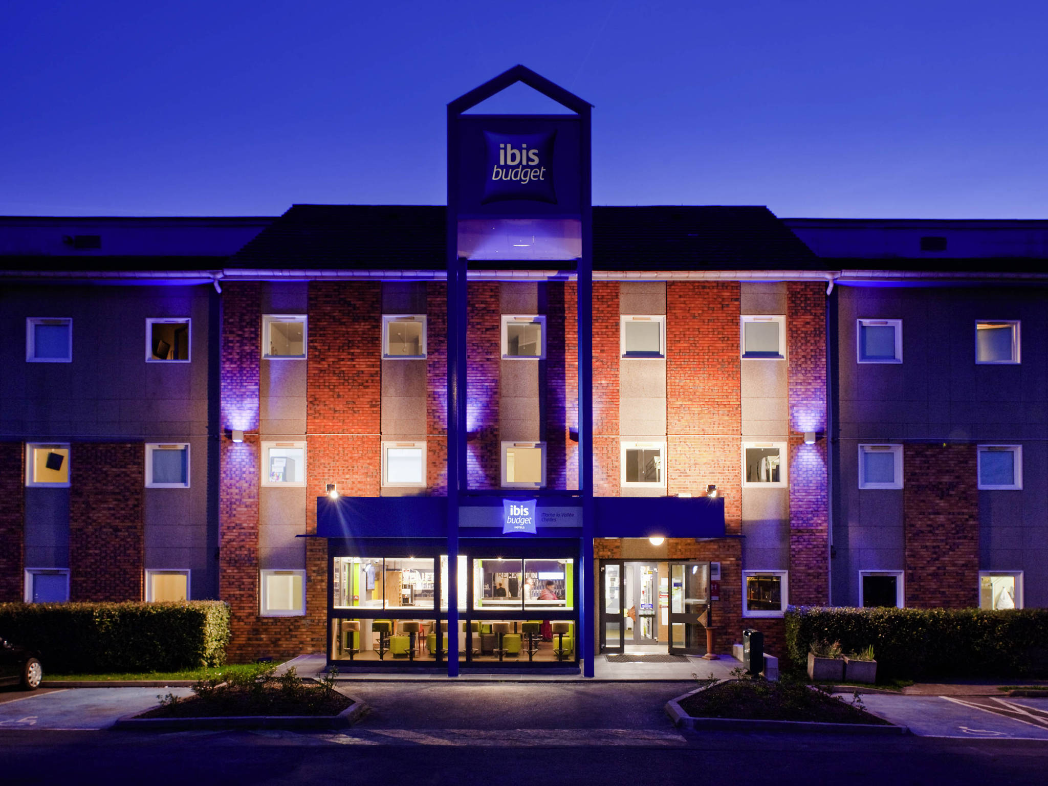 โรงแรม – ibis budget Marne-la-Vallée Chelles