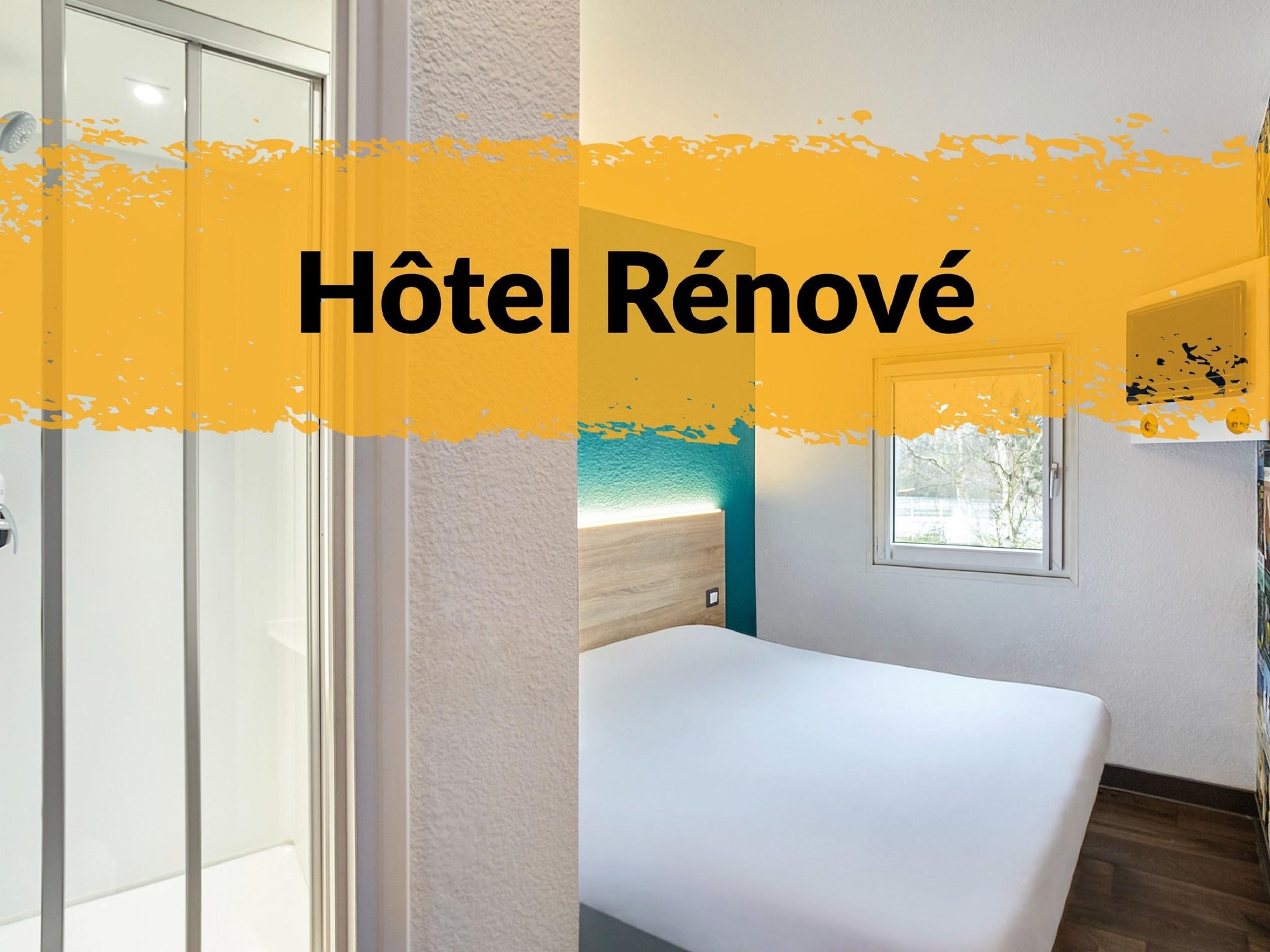โรงแรม – hotelF1 Perpignan Sud