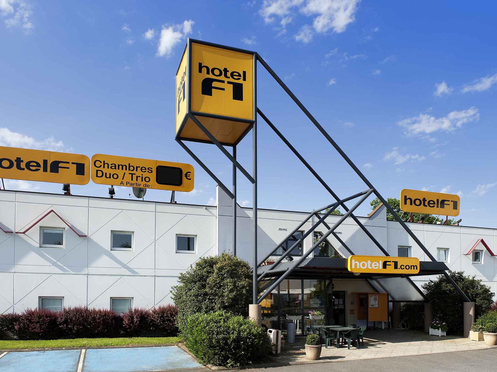โรงแรม – hotelF1 Brive Ussac