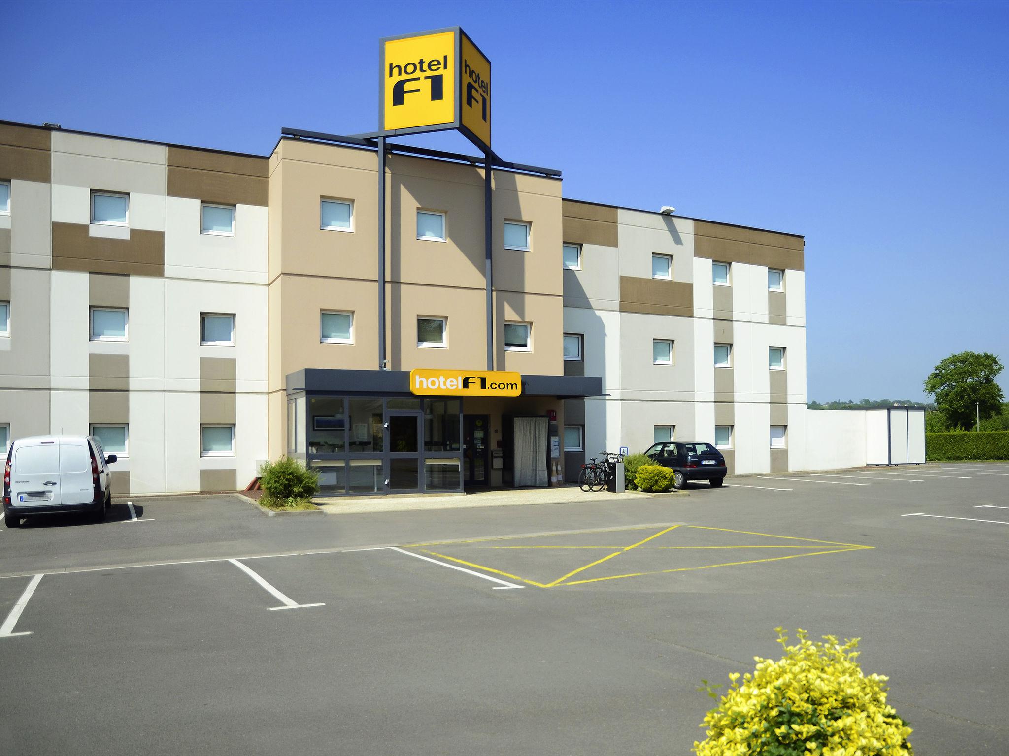 Hotell – hotelF1 Avranches Baie du Mont-Saint-Michel