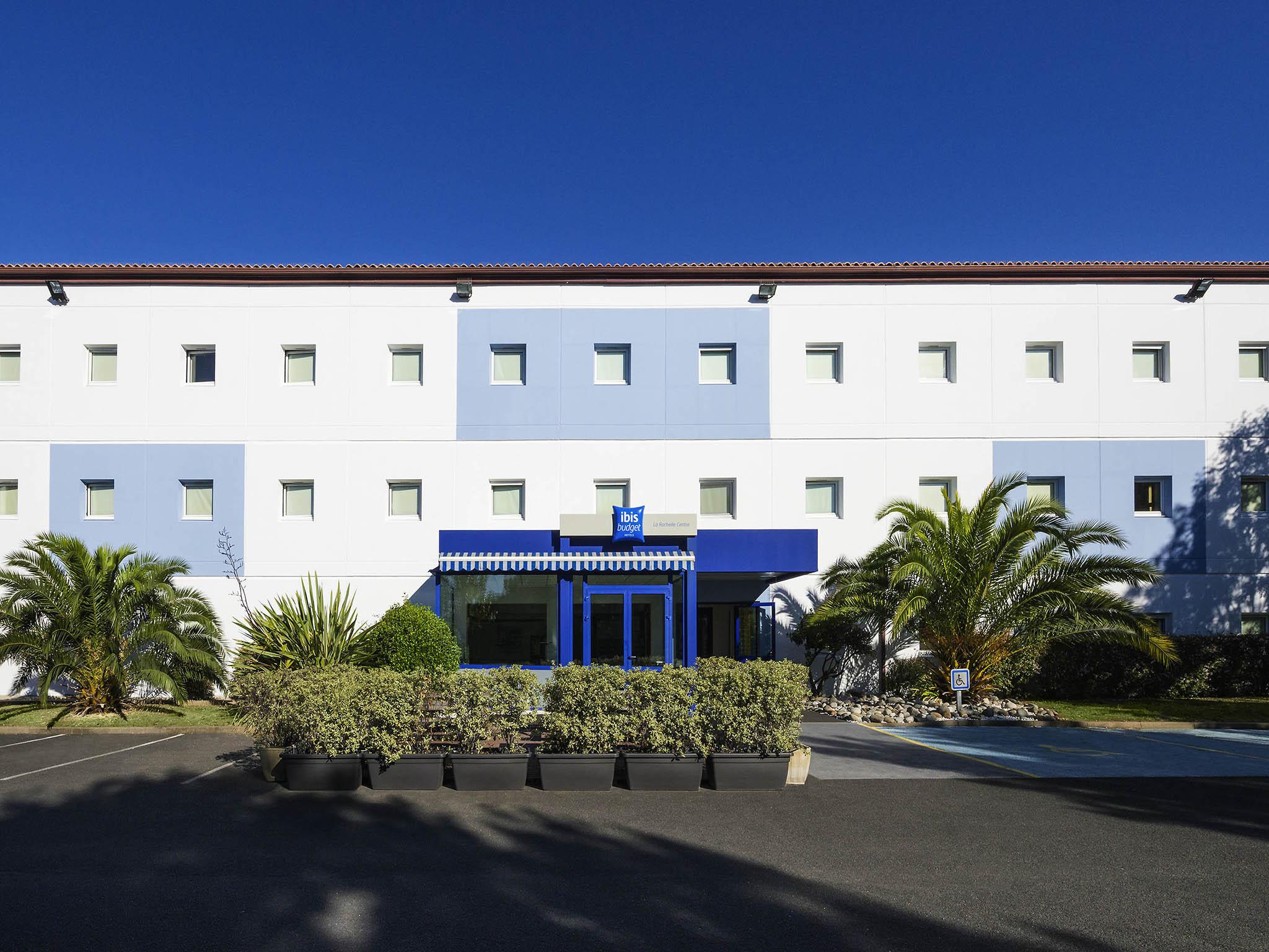 Отель — ibis budget Ла-Рошель Центр
