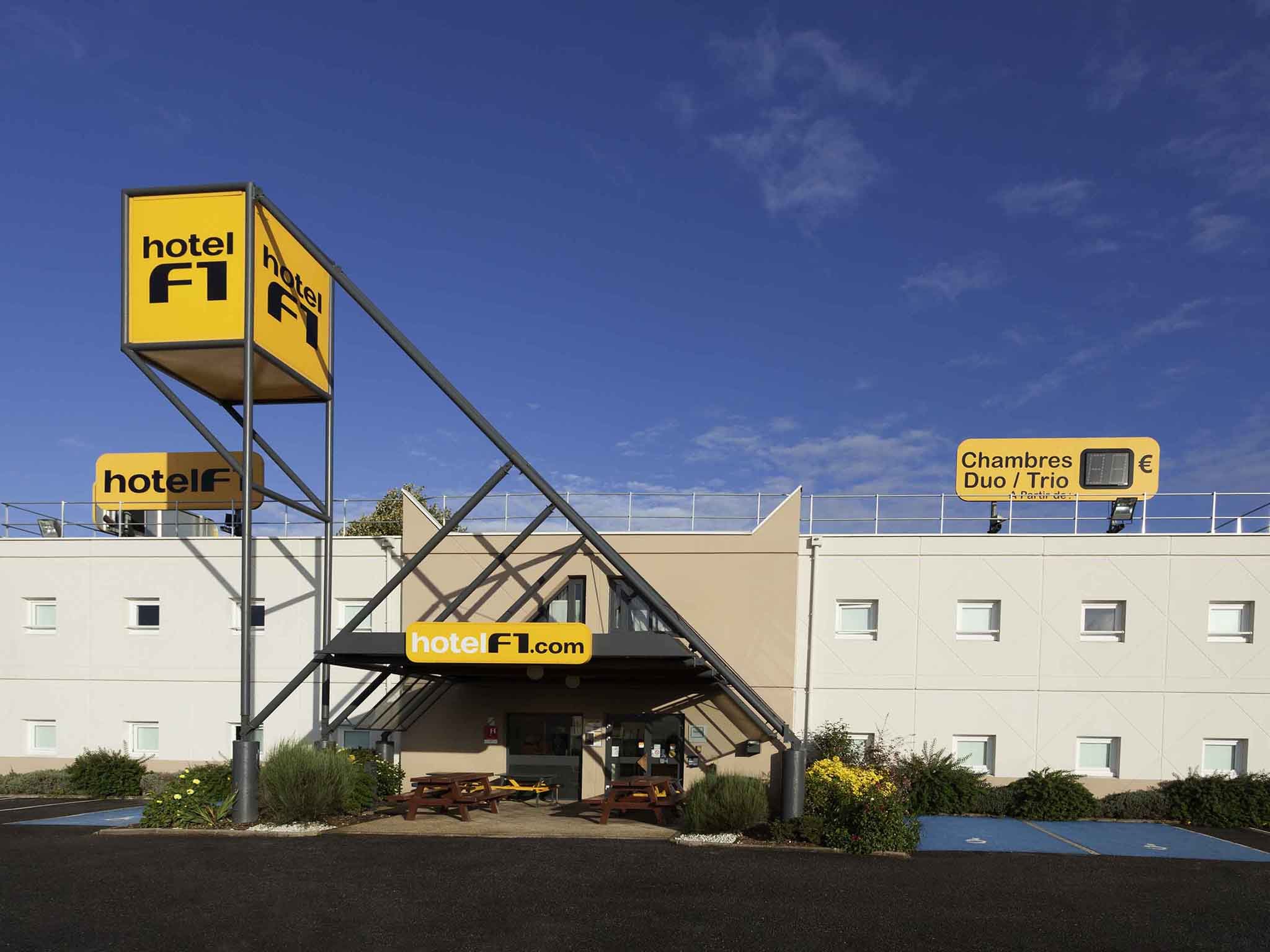 Otel – hotelF1 Aulnay Le Blanc-Mesnil Garonor A3