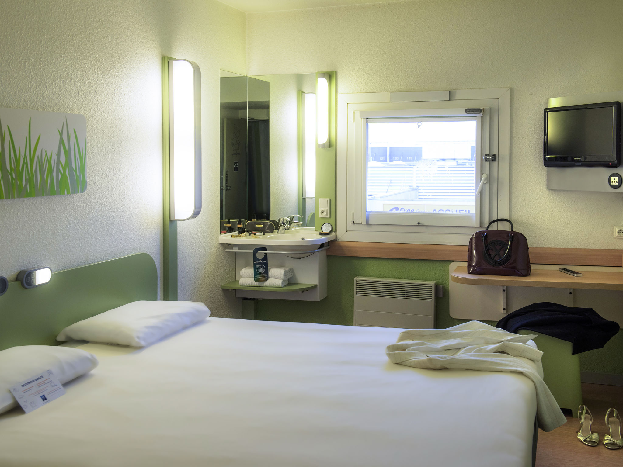 Отель — ibis budget Cergy Pierrelaye