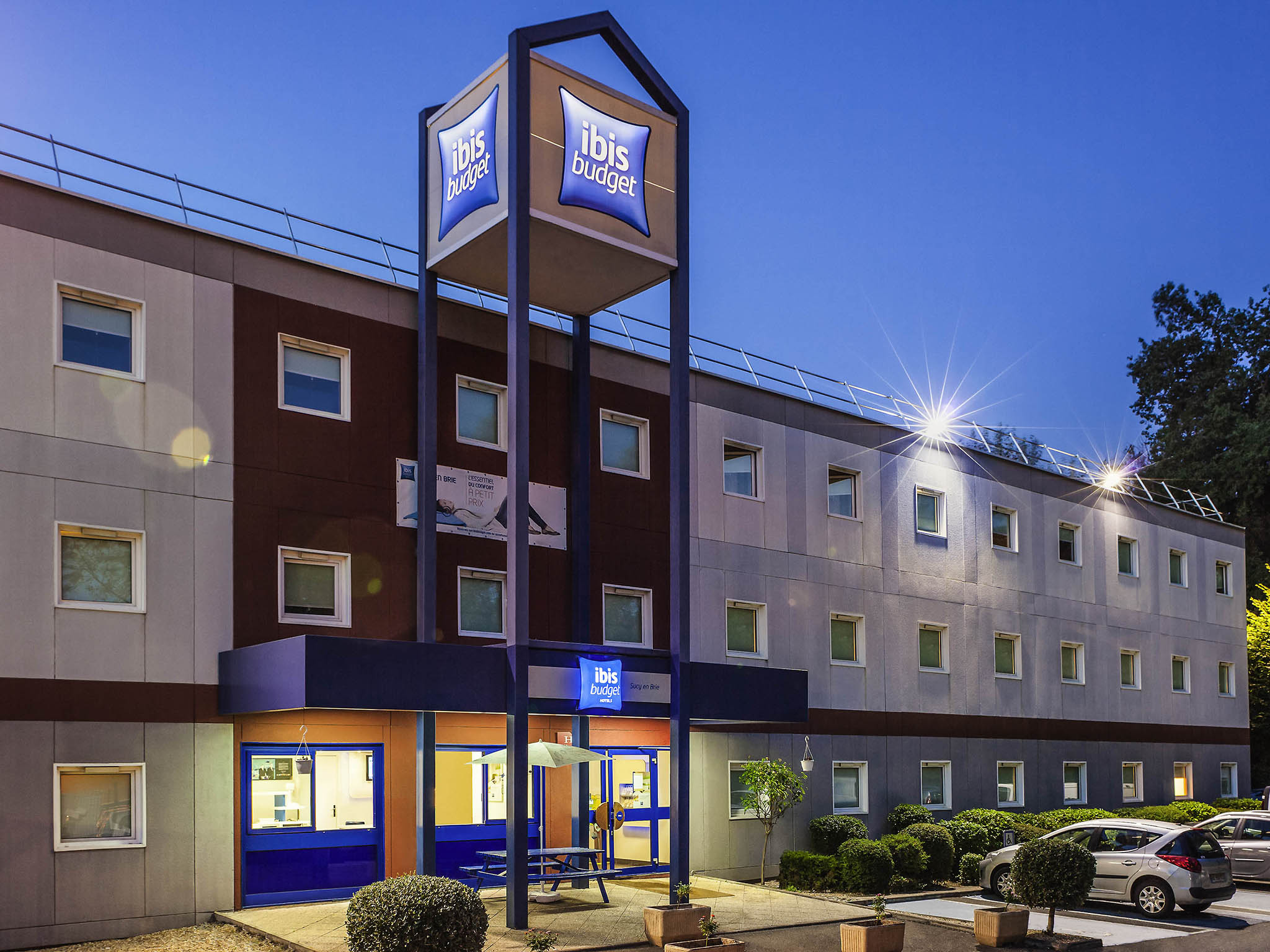 Hotell – ibis budget Sucy-en-Brie