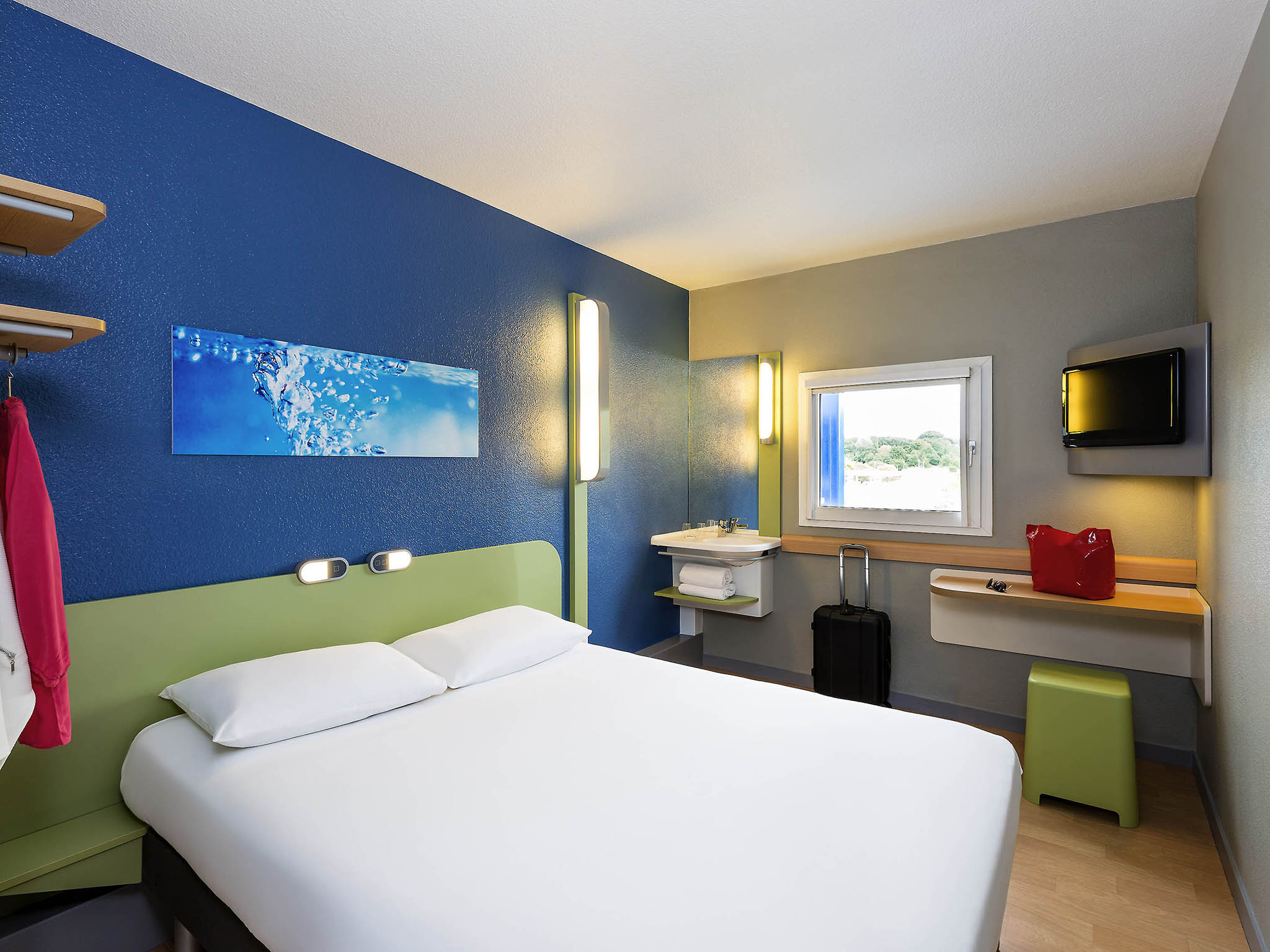 Hotell – ibis budget Angers Parc des Expositions