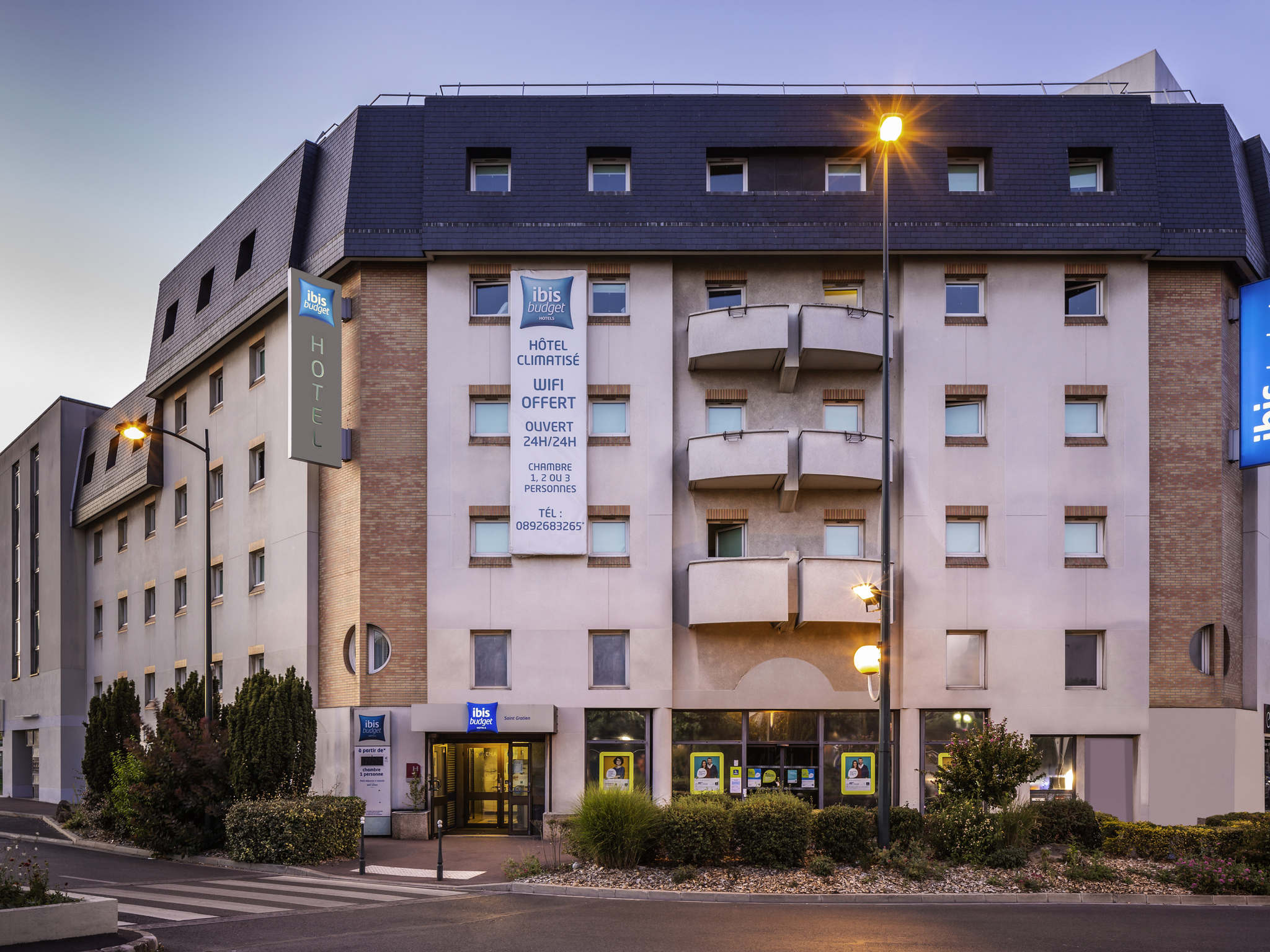 Отель — ibis budget Saint-Gratien Enghien-les-Bains