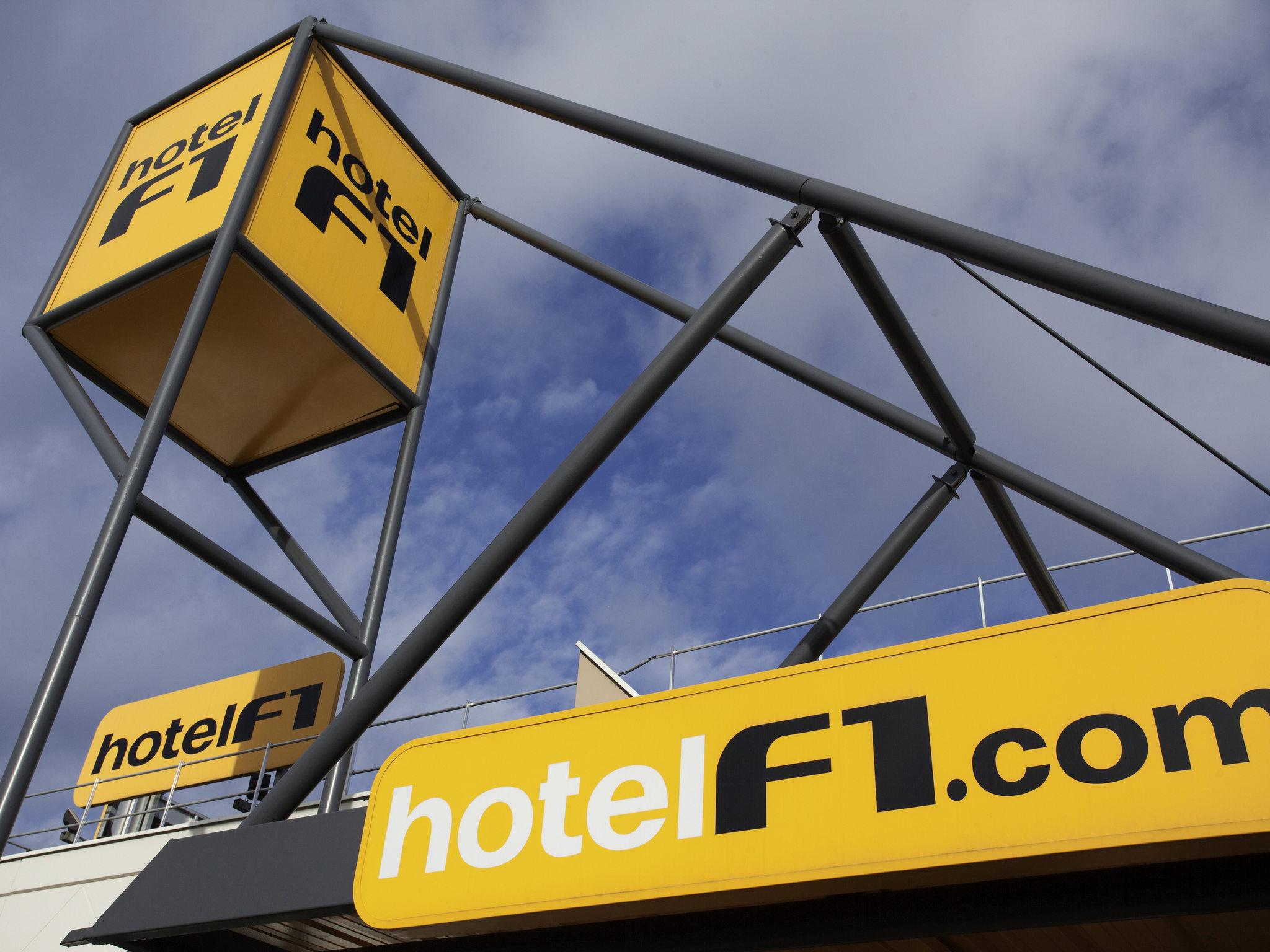 Отель — hotelF1 Le Creusot Montchanin Gare TGV