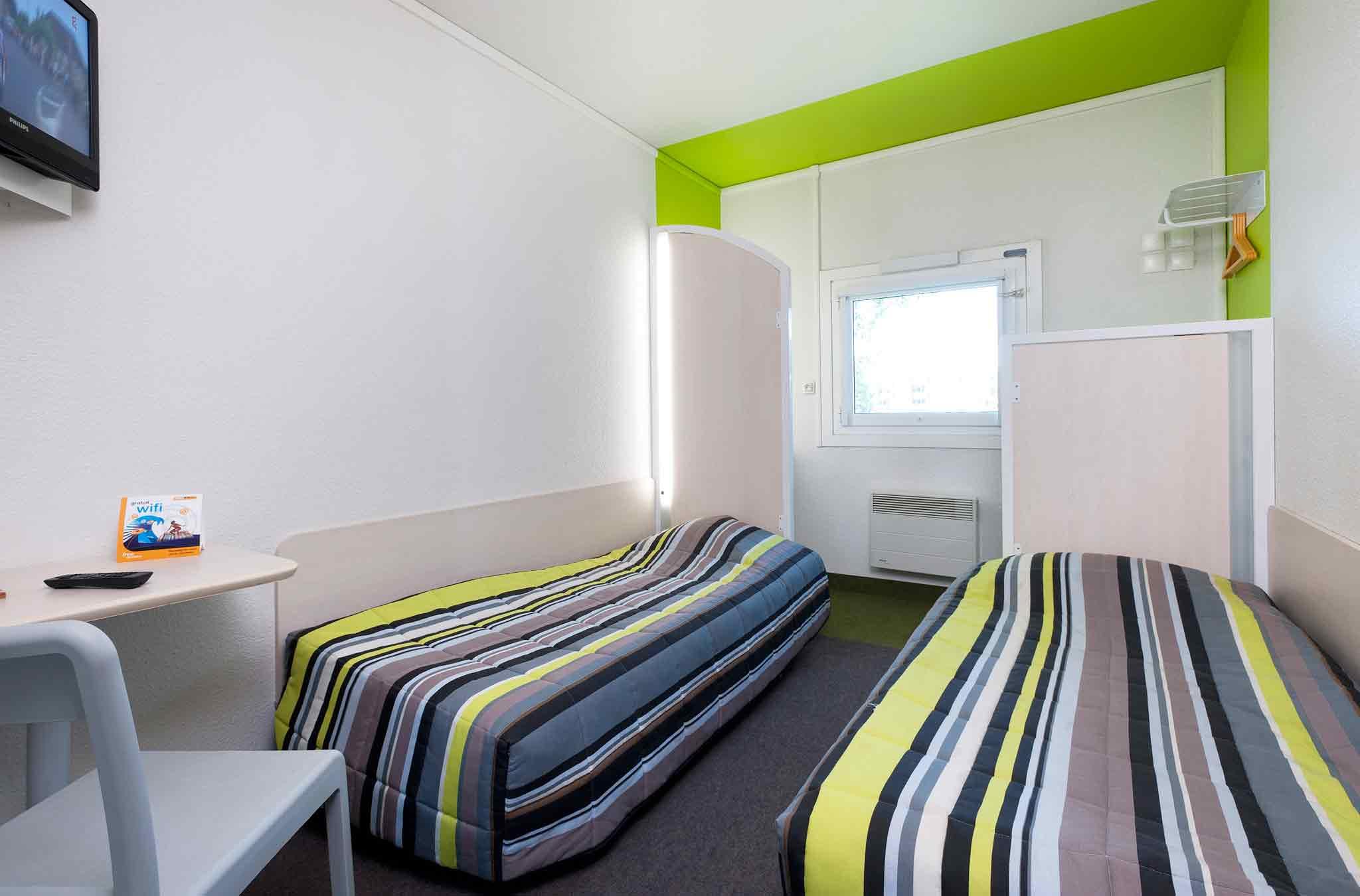 Отель — hotelF1 Troyes Sud Parc Saint-Thibault