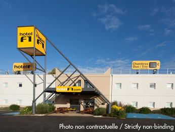 hotelF1 Troyes Sud Parc Saint-Thibault