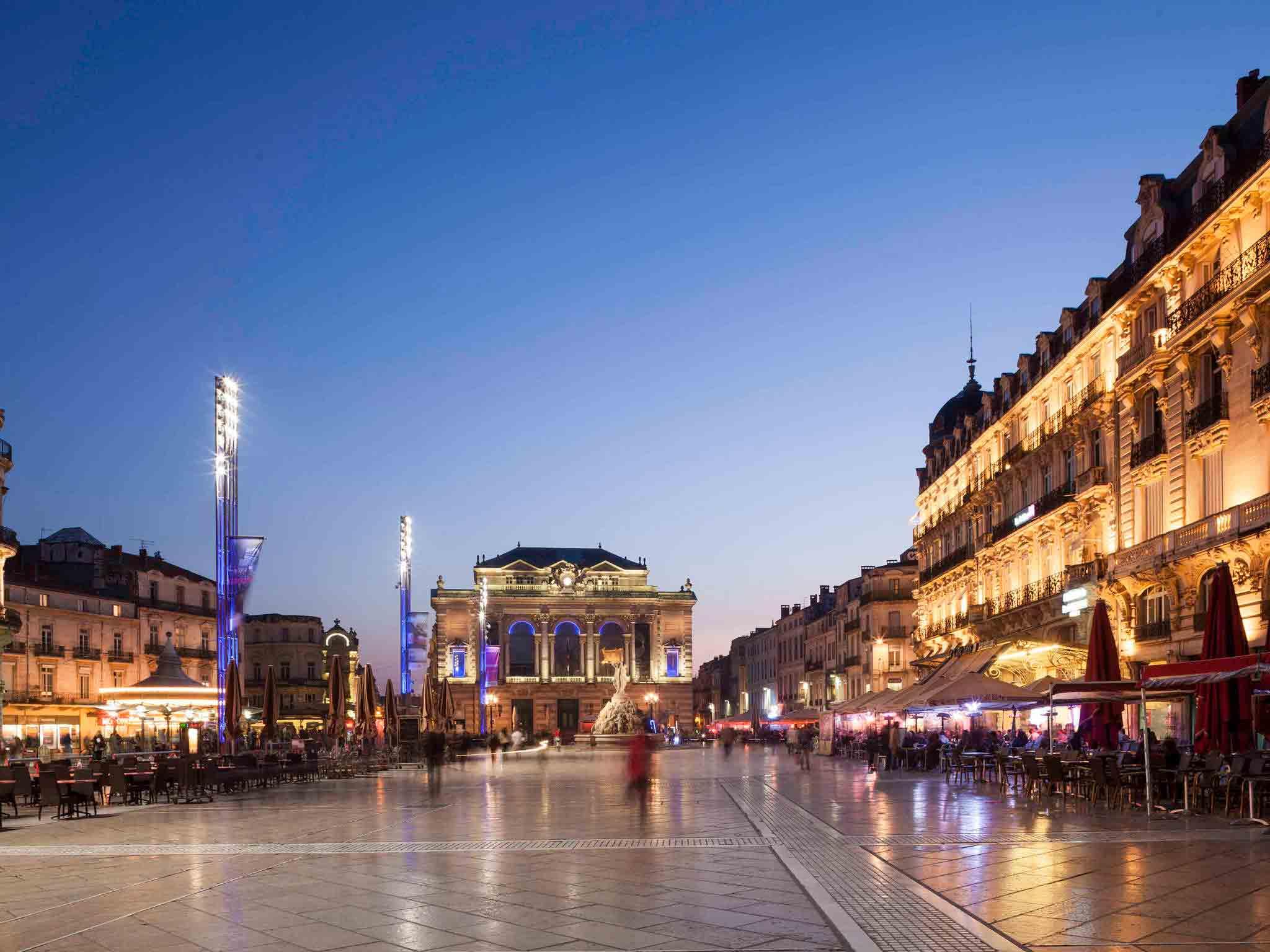 Отель — ibis budget Montpellier Sud Lattes