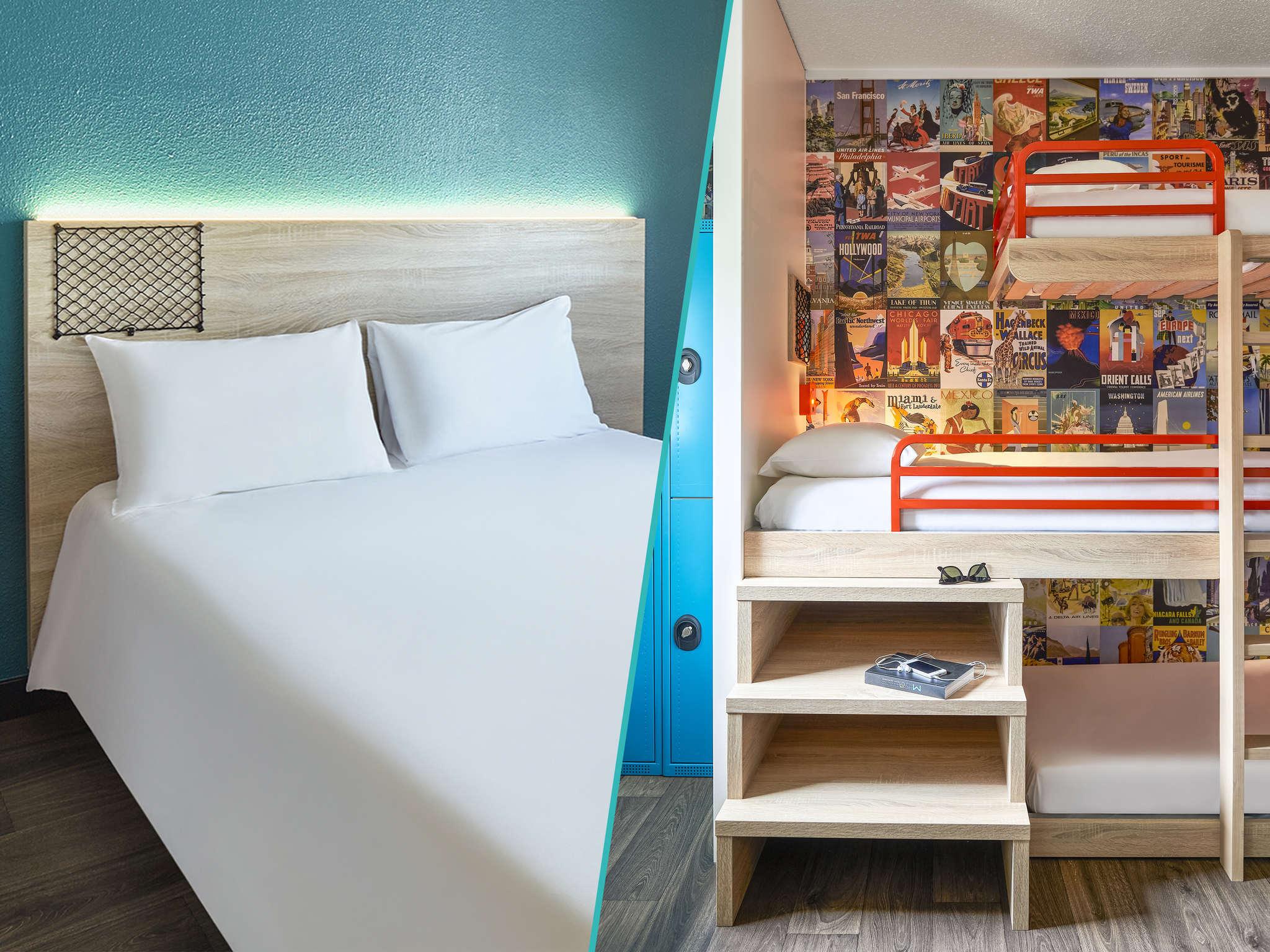 h tel paris hotelf1 paris saint ouen march aux puces. Black Bedroom Furniture Sets. Home Design Ideas