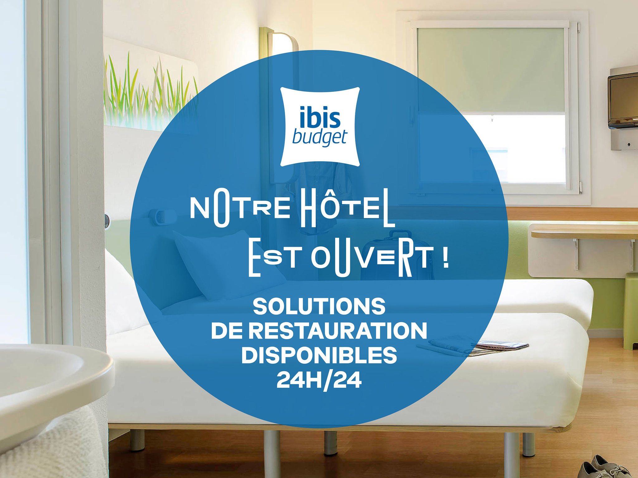 Hotell – ibis budget Bourges