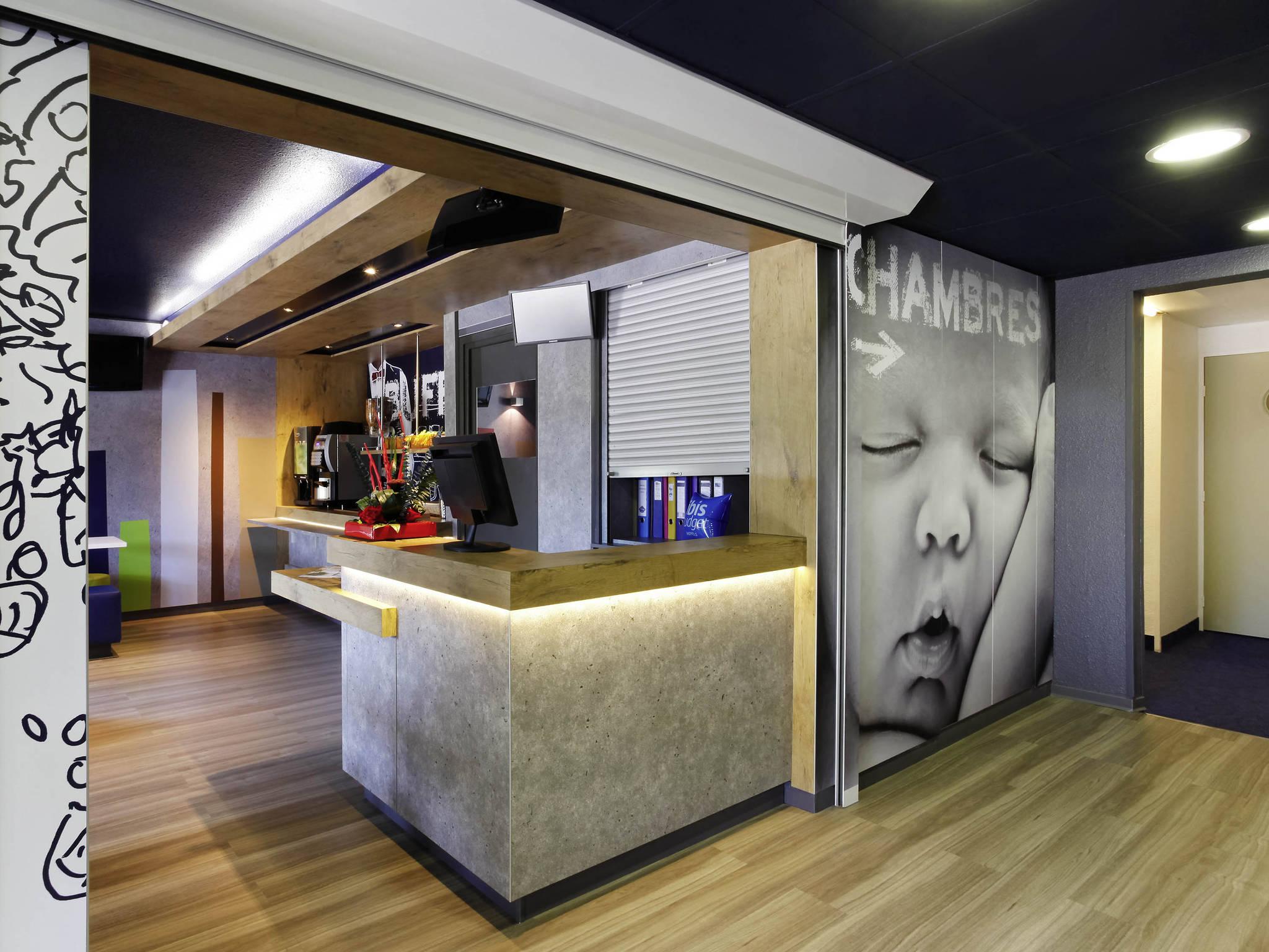 Отель — ibis budget Aix-en-Provence Est Le Canet