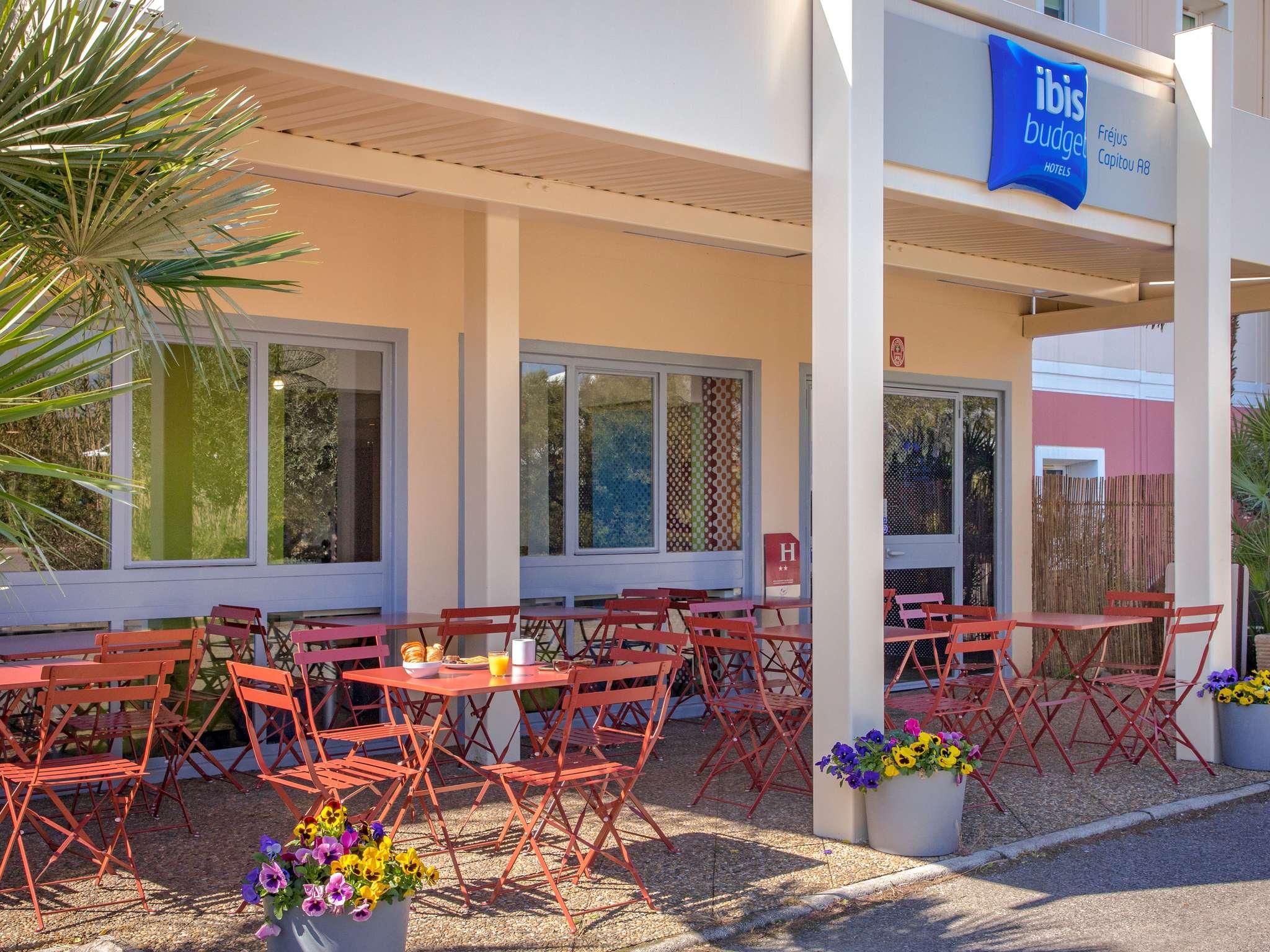 Отель — ibis budget Fréjus Saint-Raphaël Capitou A8