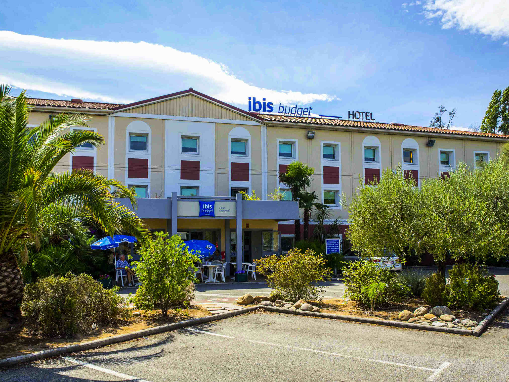 Hotell – ibis budget Fréjus Saint-Raphaël Capitou A8