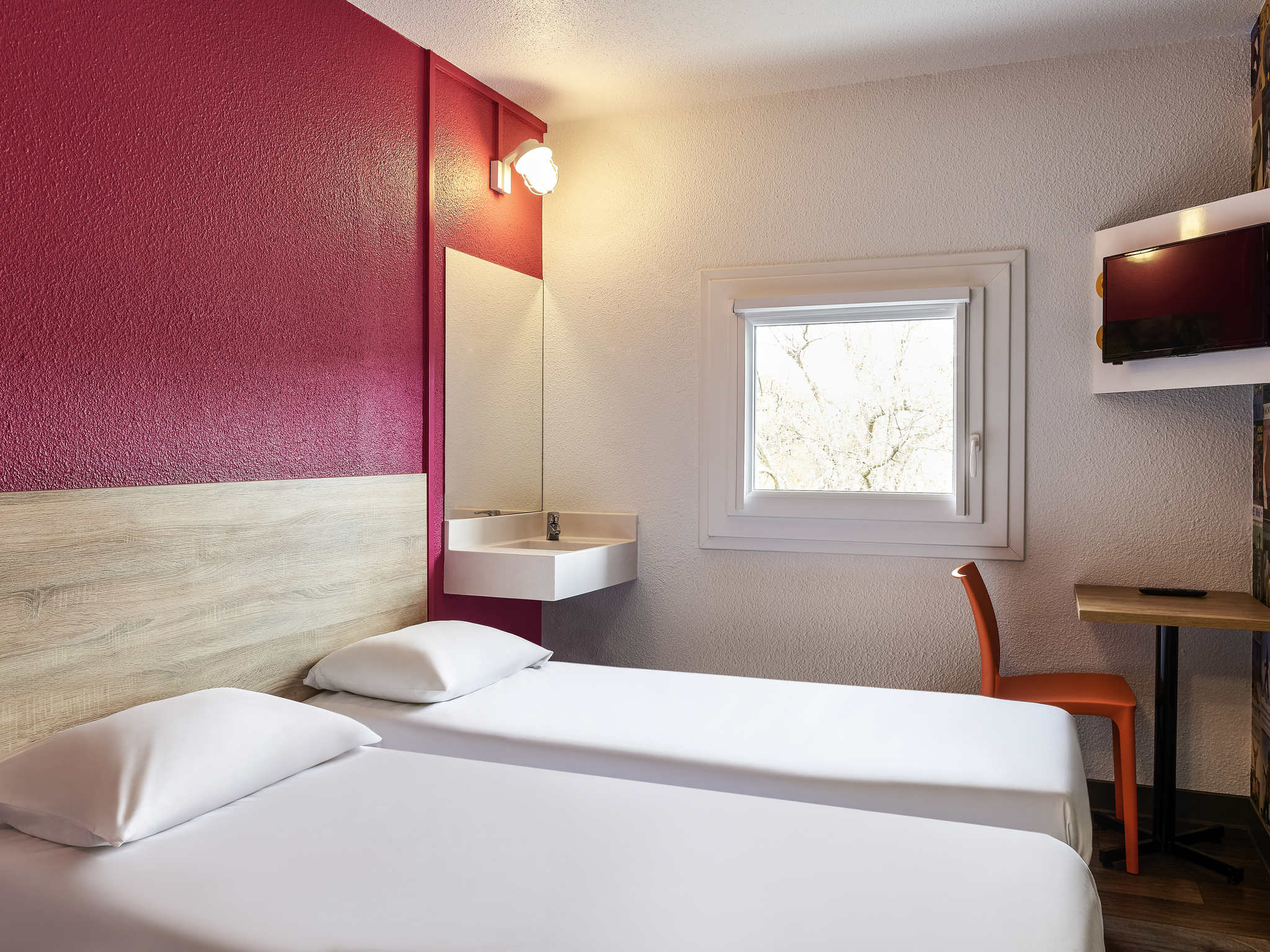 Отель — hotelF1 Aix-en-Provence