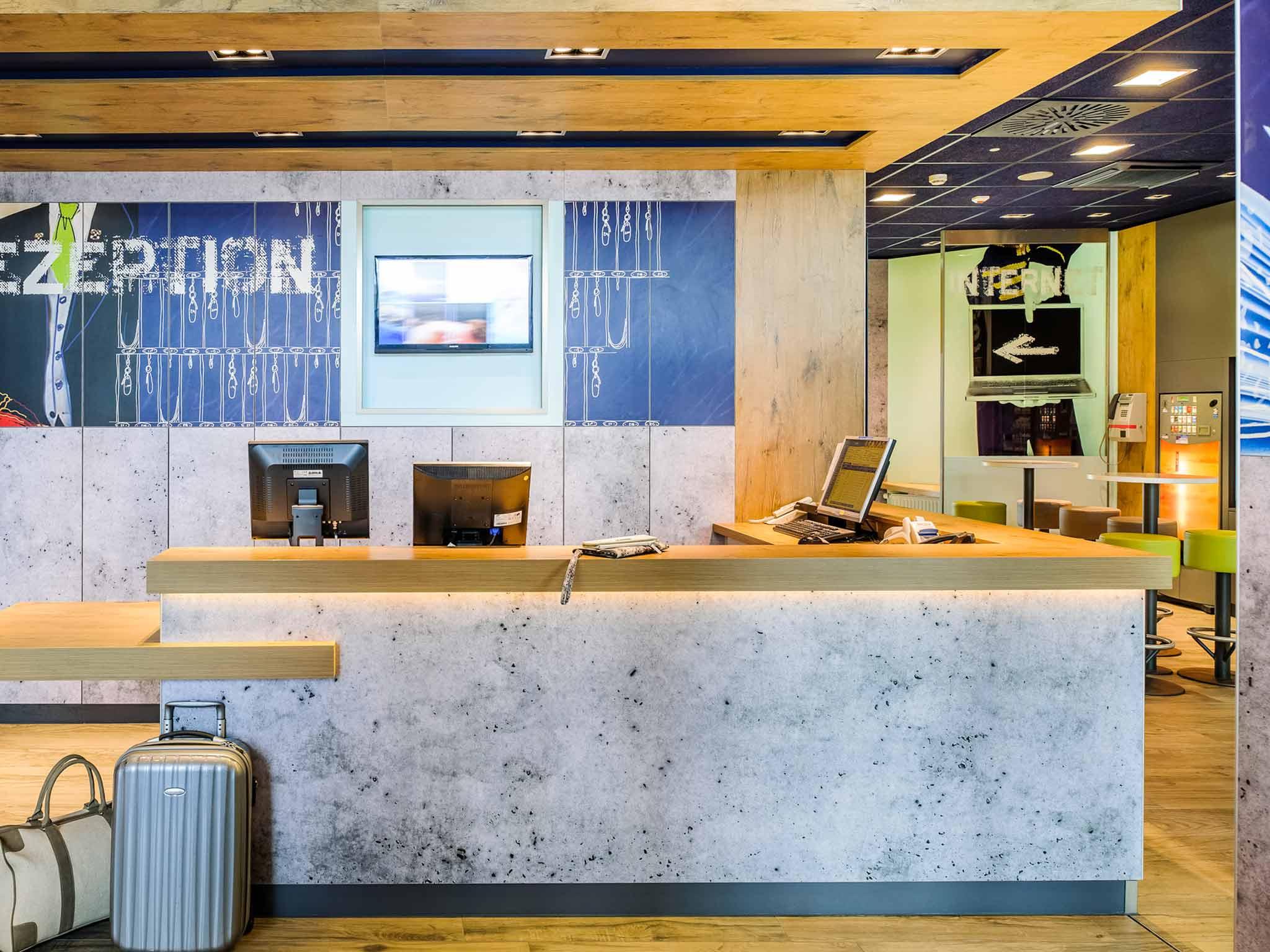 Отель — ibis budget Deauville
