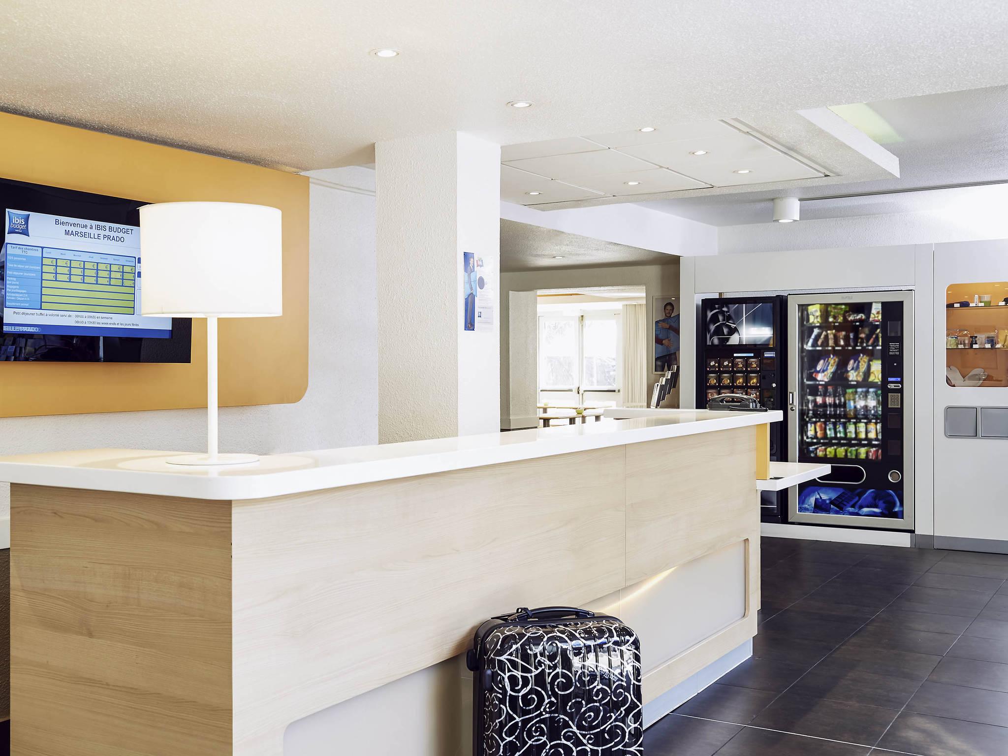 โรงแรม – ibis budget Marseille Prado Parc des Expositions