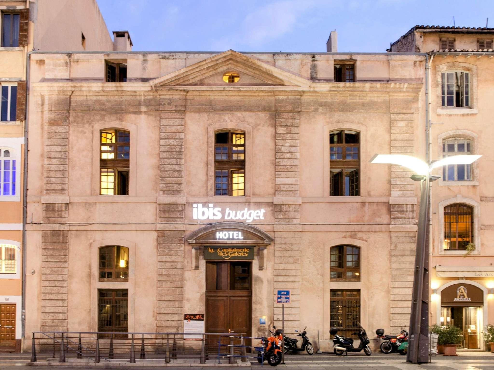 Hotel – ibis budget Marsella Viejo Puerto
